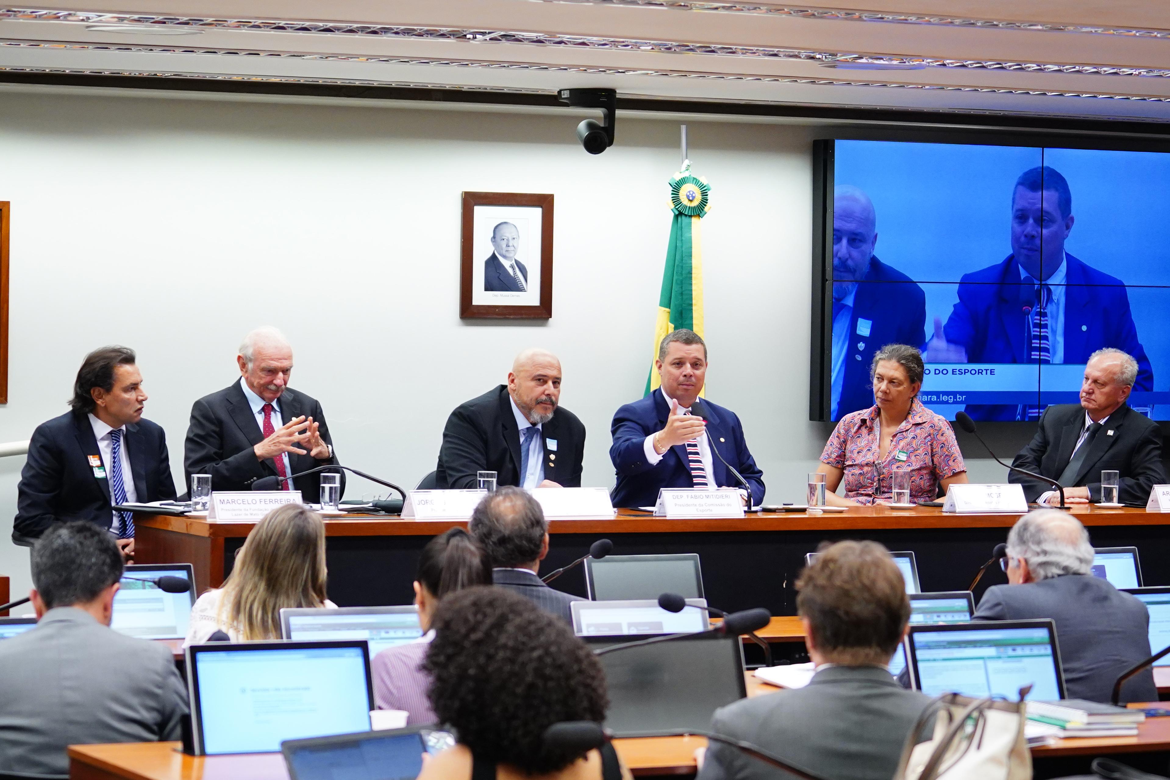 Audiência Pública sobre a implementação do Plano Nacional do Desporto