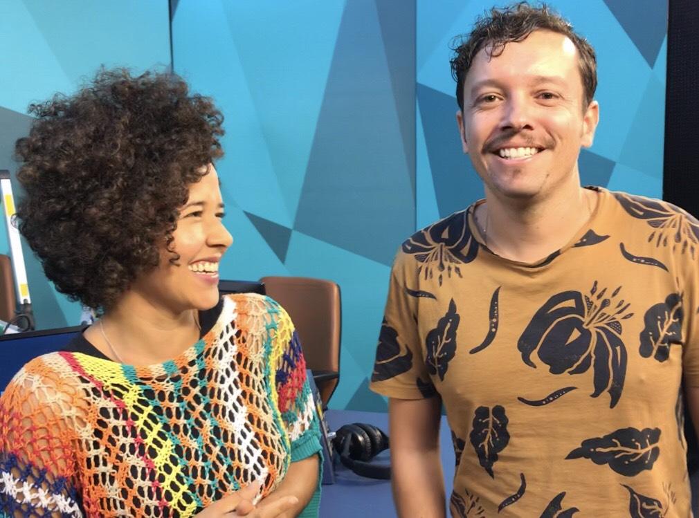 Trilha das Artes, 06/04/2019 - Luciana Amaral e Carlos Valença, da Estupenda Trupe