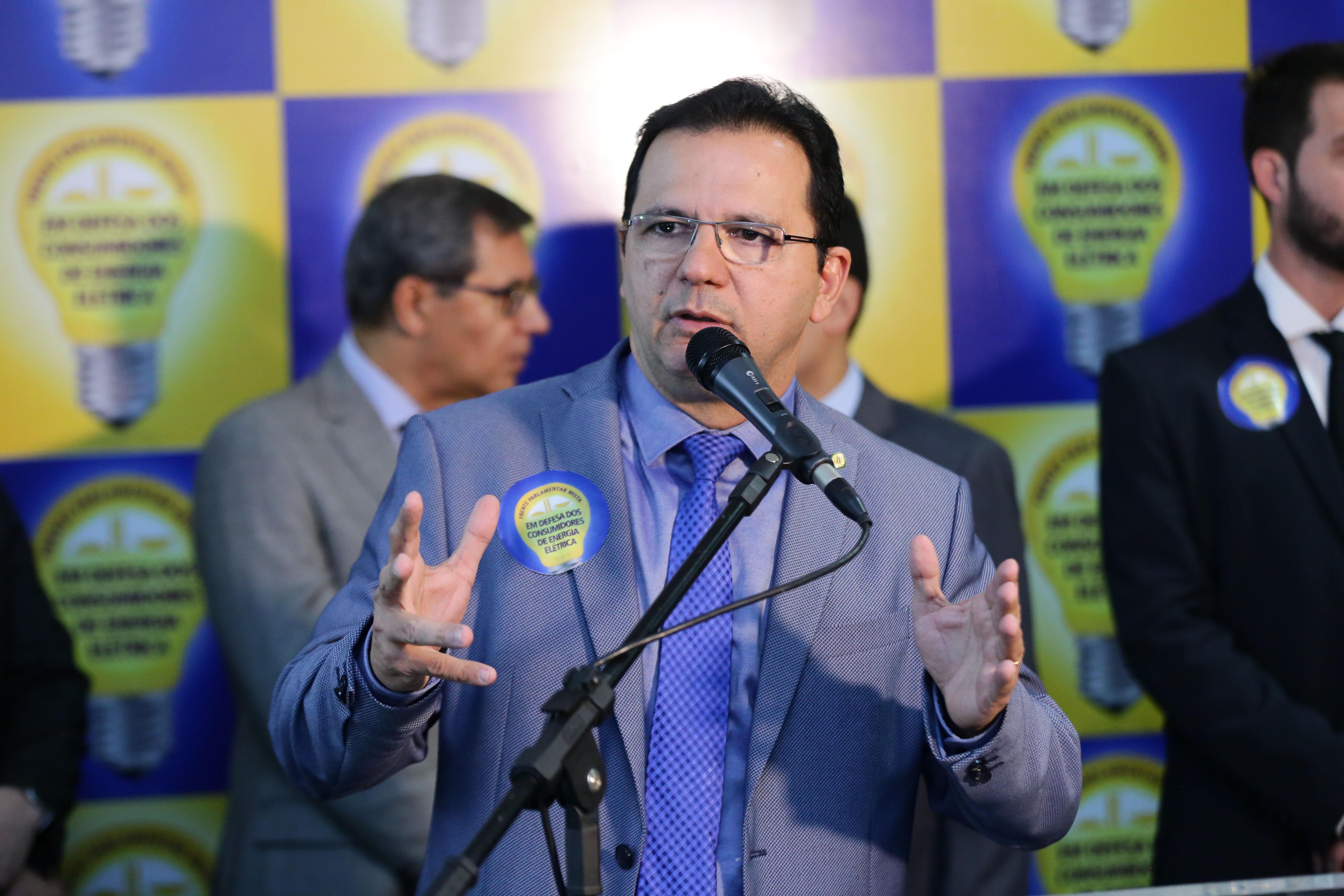 Lançamento da Frente Parlamentar em Defesa dos Consumidores de Energia Elétrica. Dep. Junior Ferrari (PSD - PA)