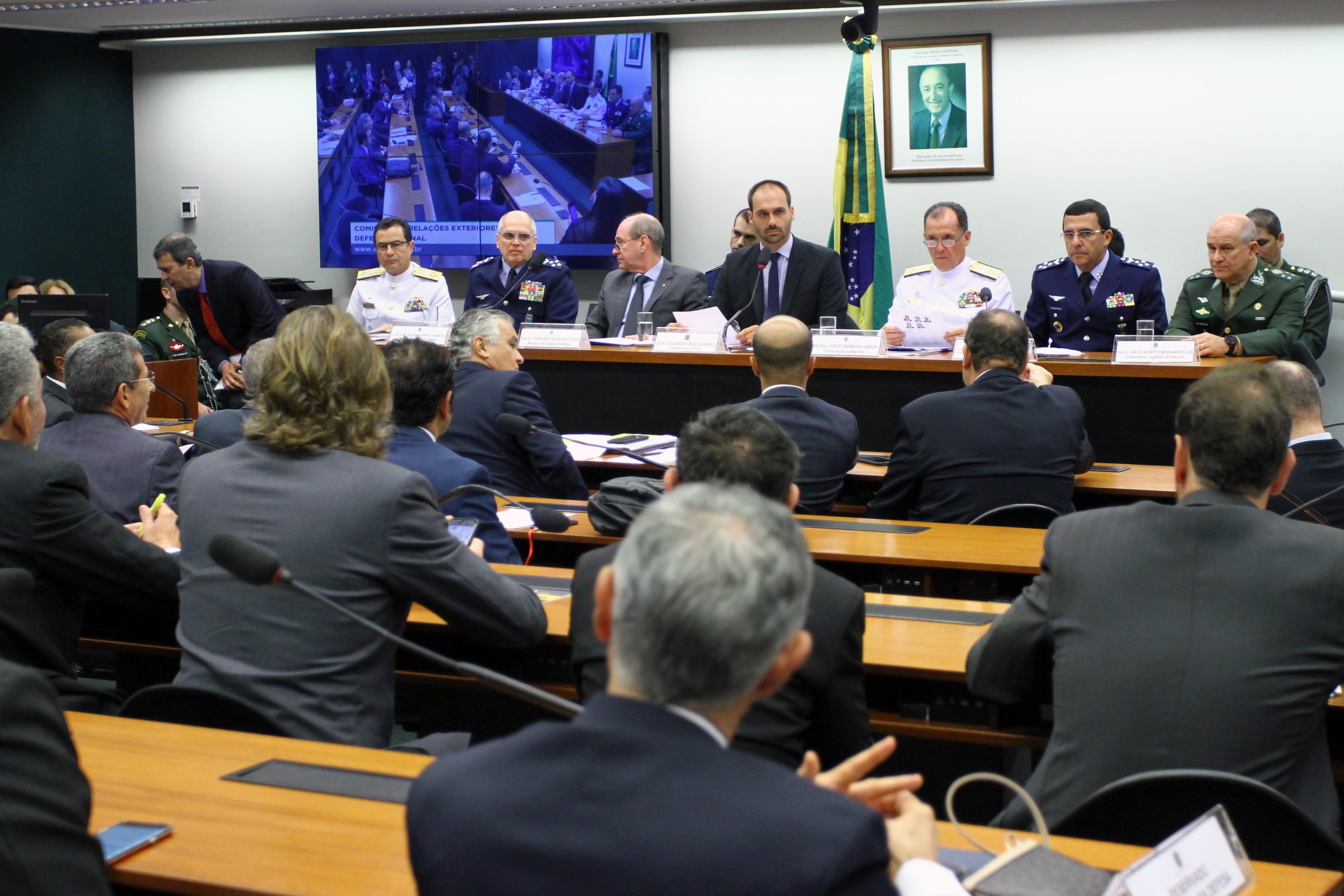 Audiência pública sobre as prioridades para o ano em curso e as perspectivas de atuação futura do Ministério da Defesa
