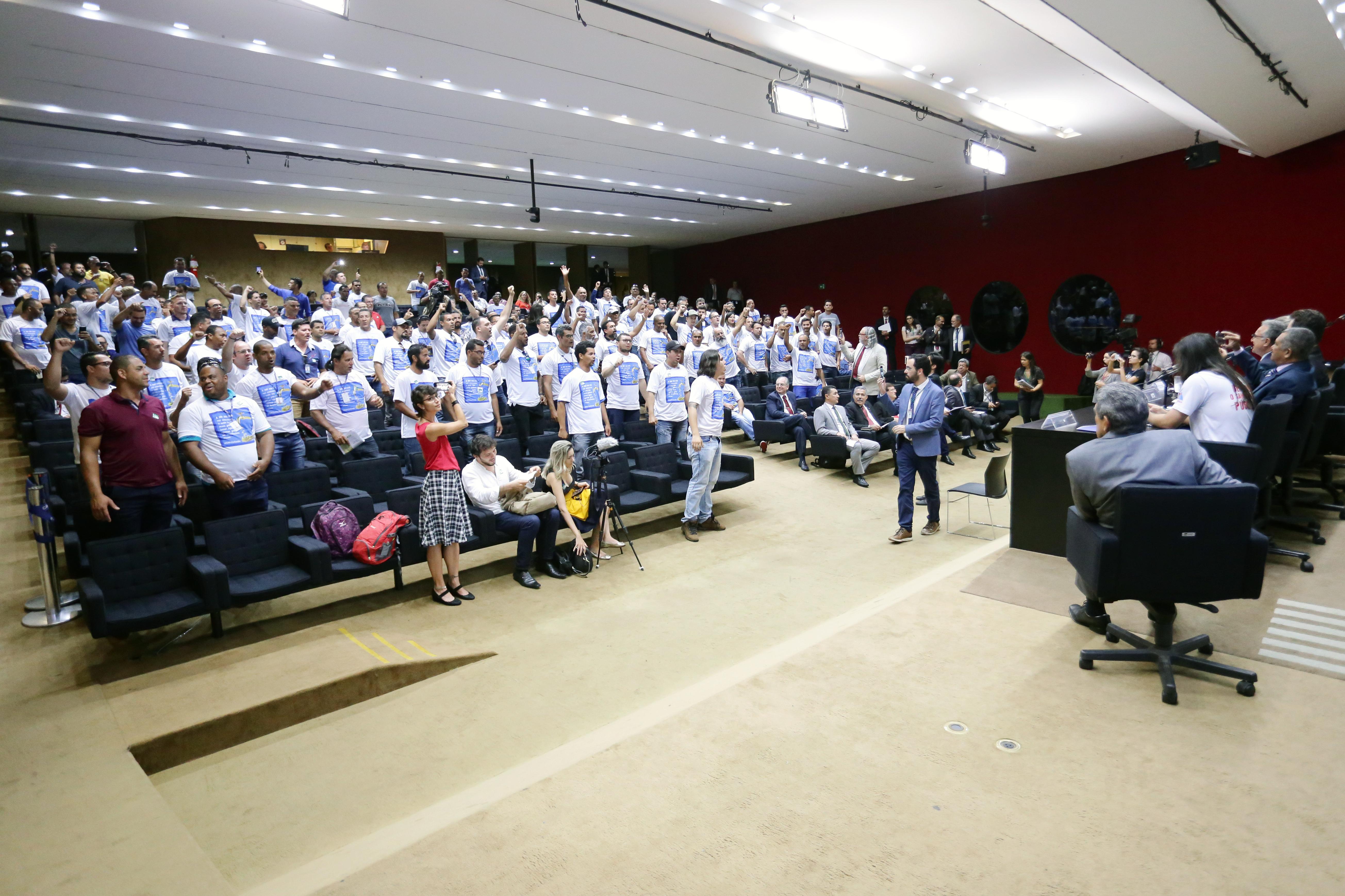 Audiência pública para debater as mudanças propostas para o setor de saneamento na Medida Provisória 868/18 e a consulta pública do PLANSAB