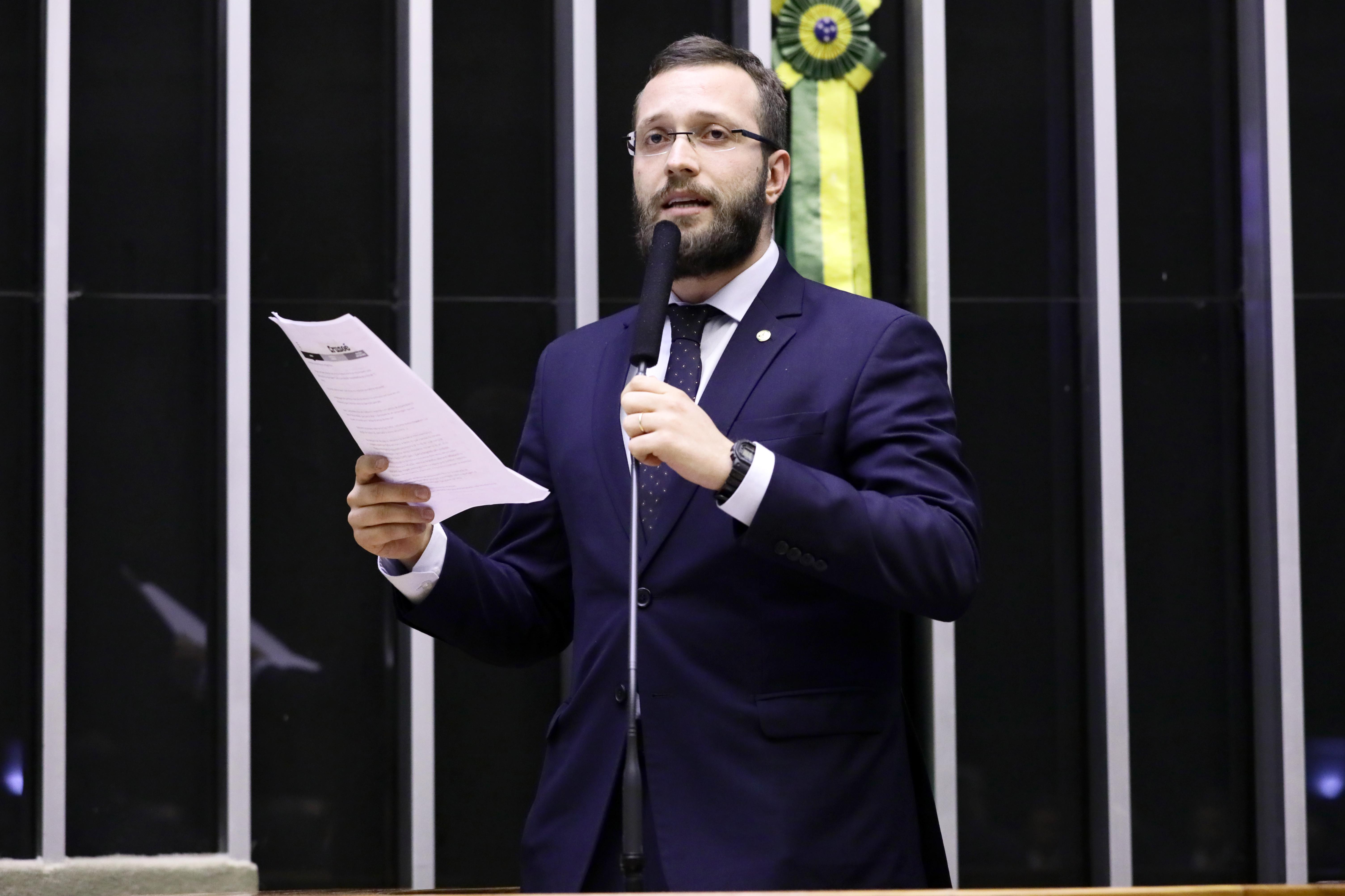 Sessão extraordinária. Dep. Filipe Barros (PSL - PR)