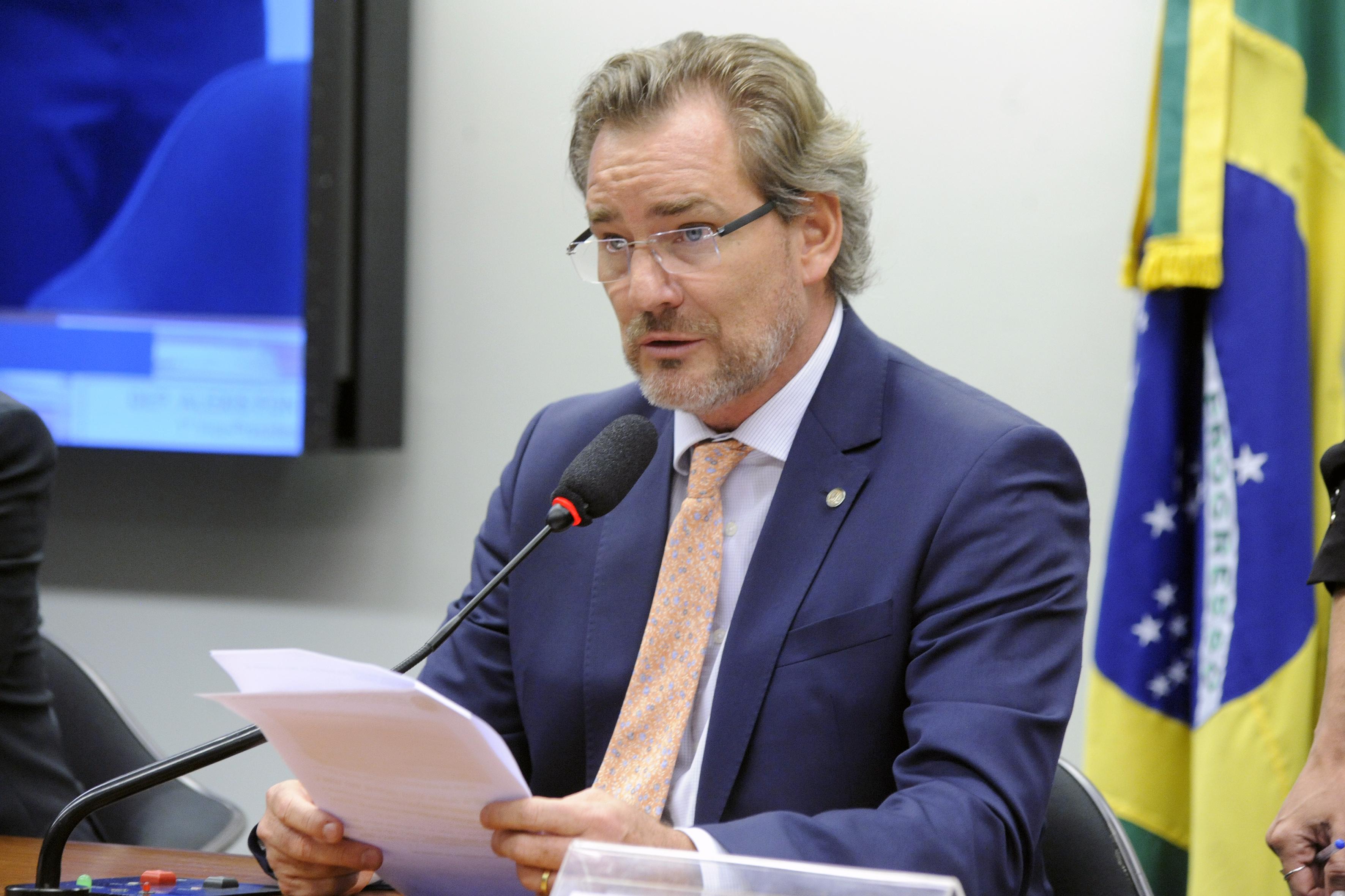 Instalação e Eleição do presidente e dos vice-presidentes. 1º vice-presidente eleito, dep. Alexis Fonteyne (NOVO - SP)