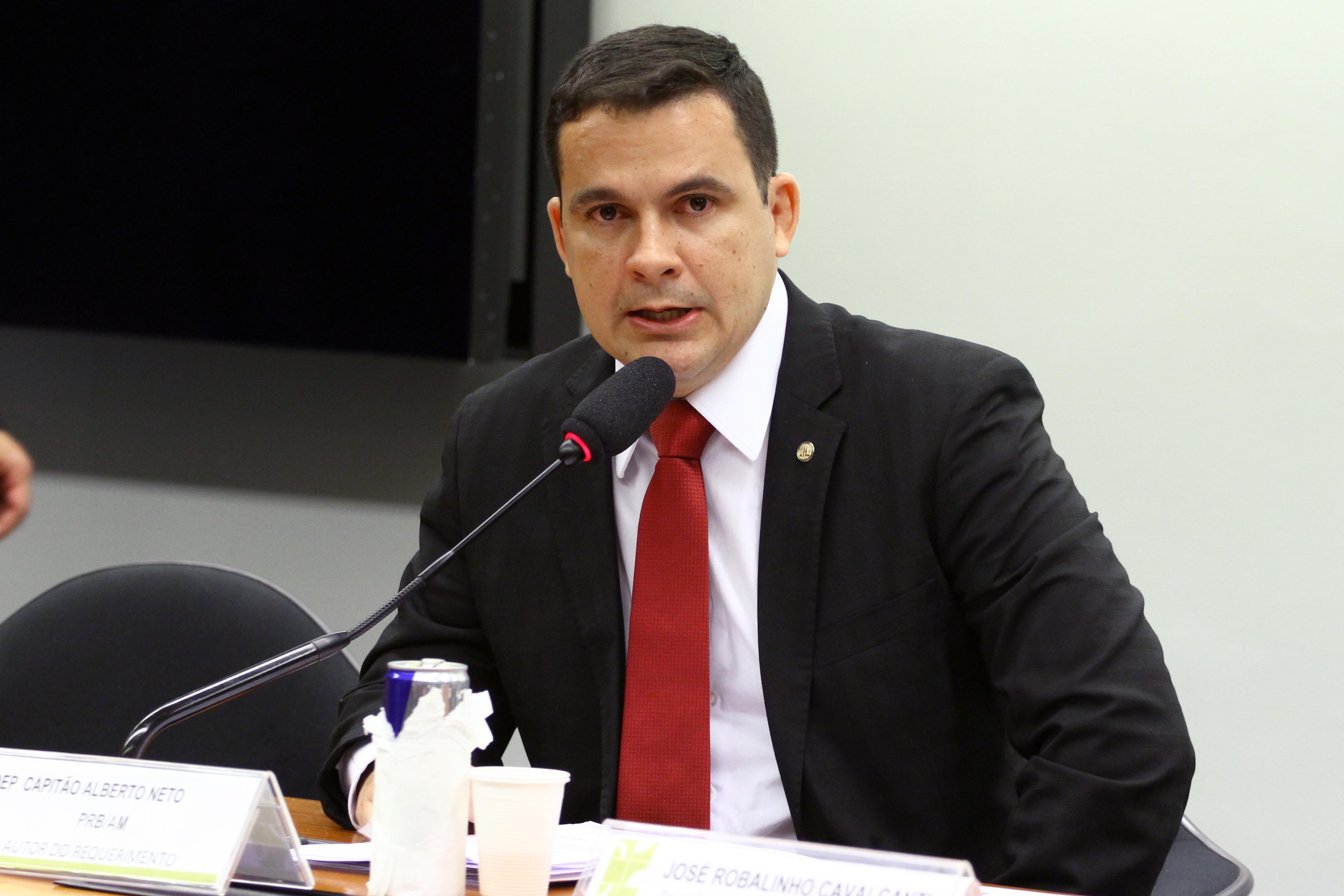 Audiência pública sobre o Sistema Penitenciário Brasileiro. Dep. Capitão Alberto Neto (PRB - AM)
