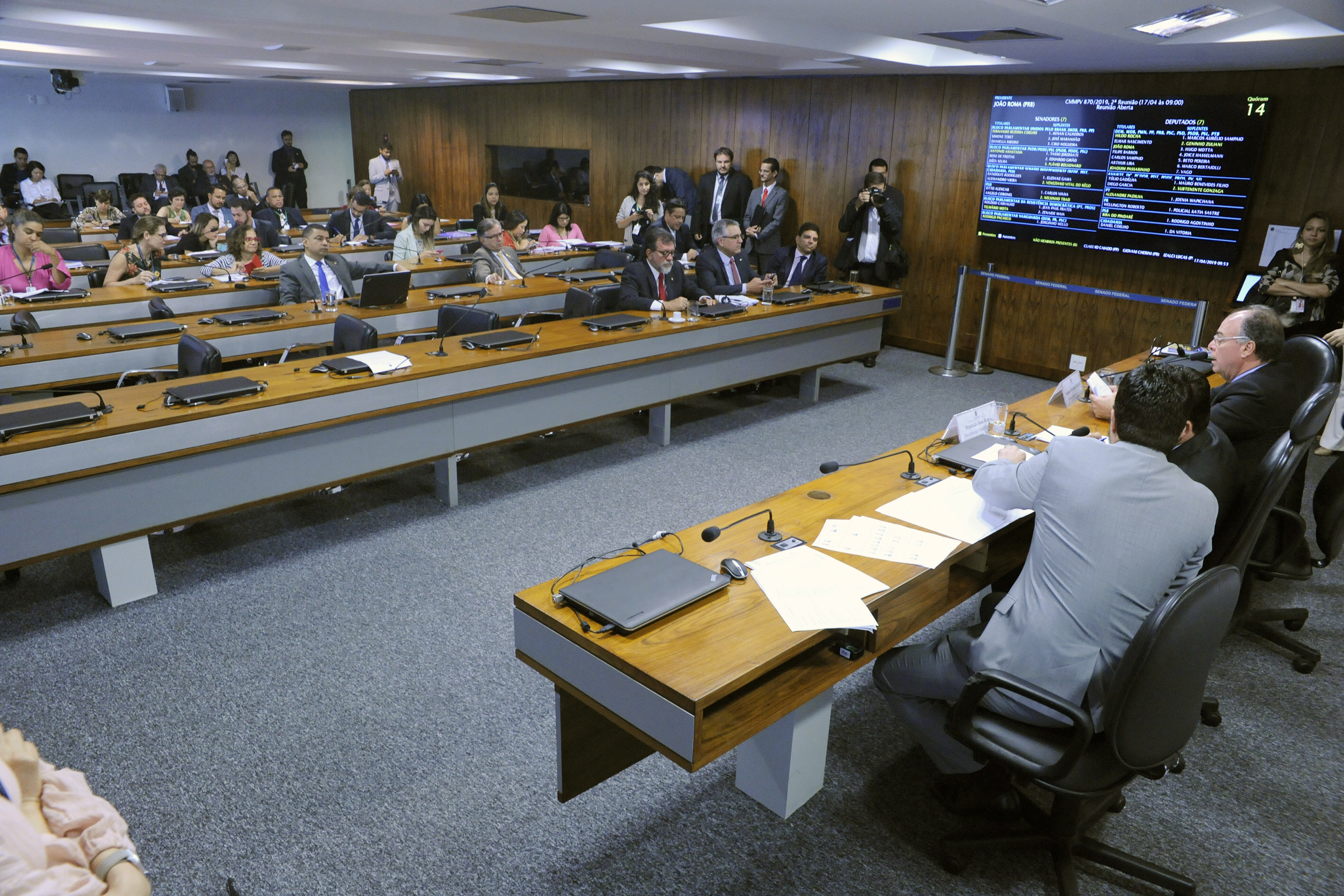 Comissão Mista sobre a MP 870/19, que estabelece a organização básica dos Órgãos da Presidência da República e dos Ministérios