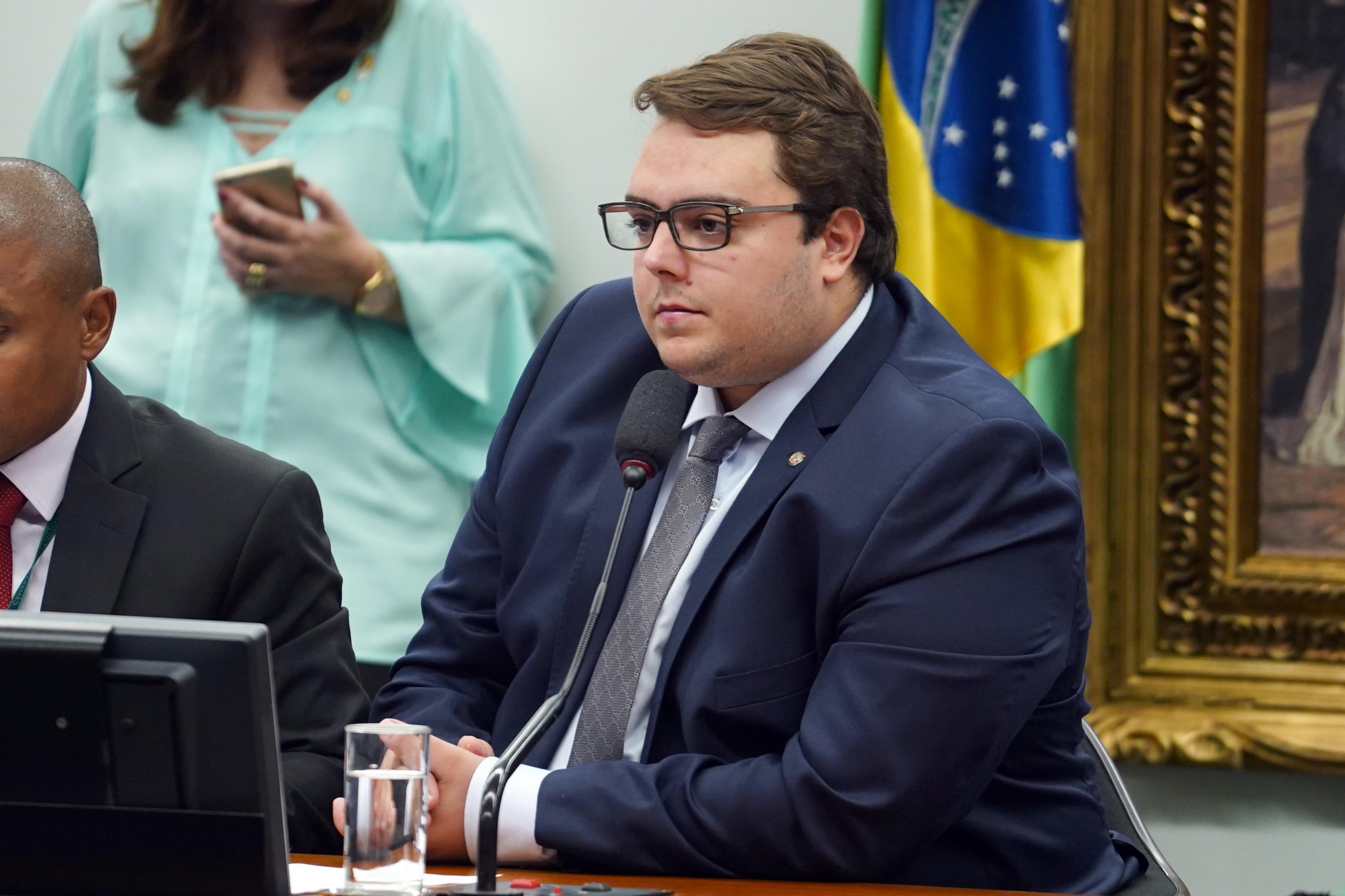 Reunião ordinária. Dep Felipe Francischini (PSL-PR)