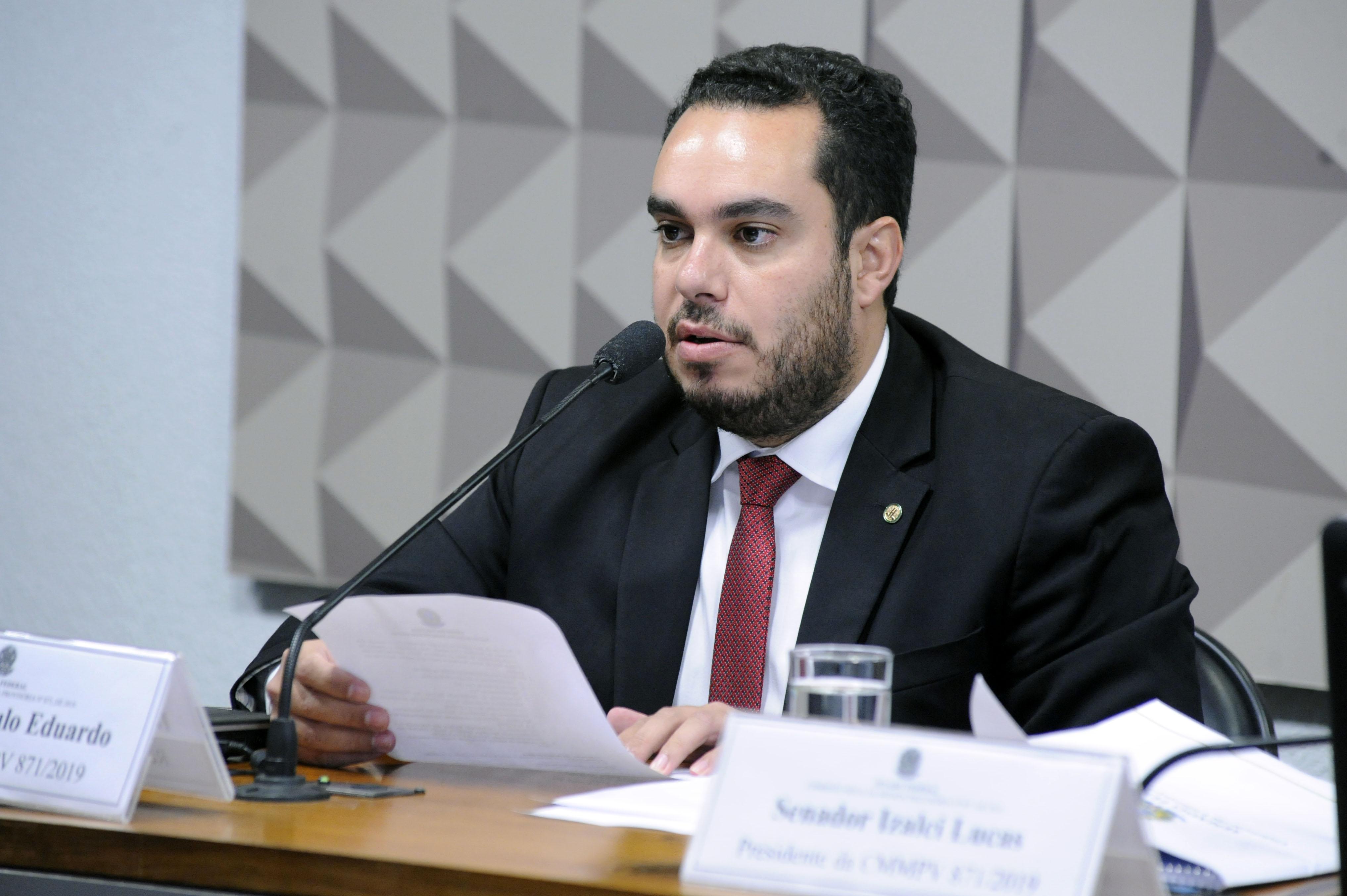Comissão Mista sobre a MP 871/19, que institui o Programa Especial para Análise de Benefícios com indícios de irregularidade. Dep. Paulo Eduardo (PSC-PR)