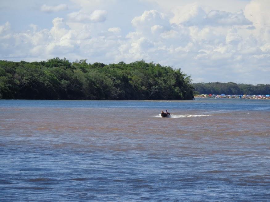 Salão Verde, 23/04/2019 - Parque Nacional da Ilha Grande, na divisa do Paraná com o Mato Grosso do Sul