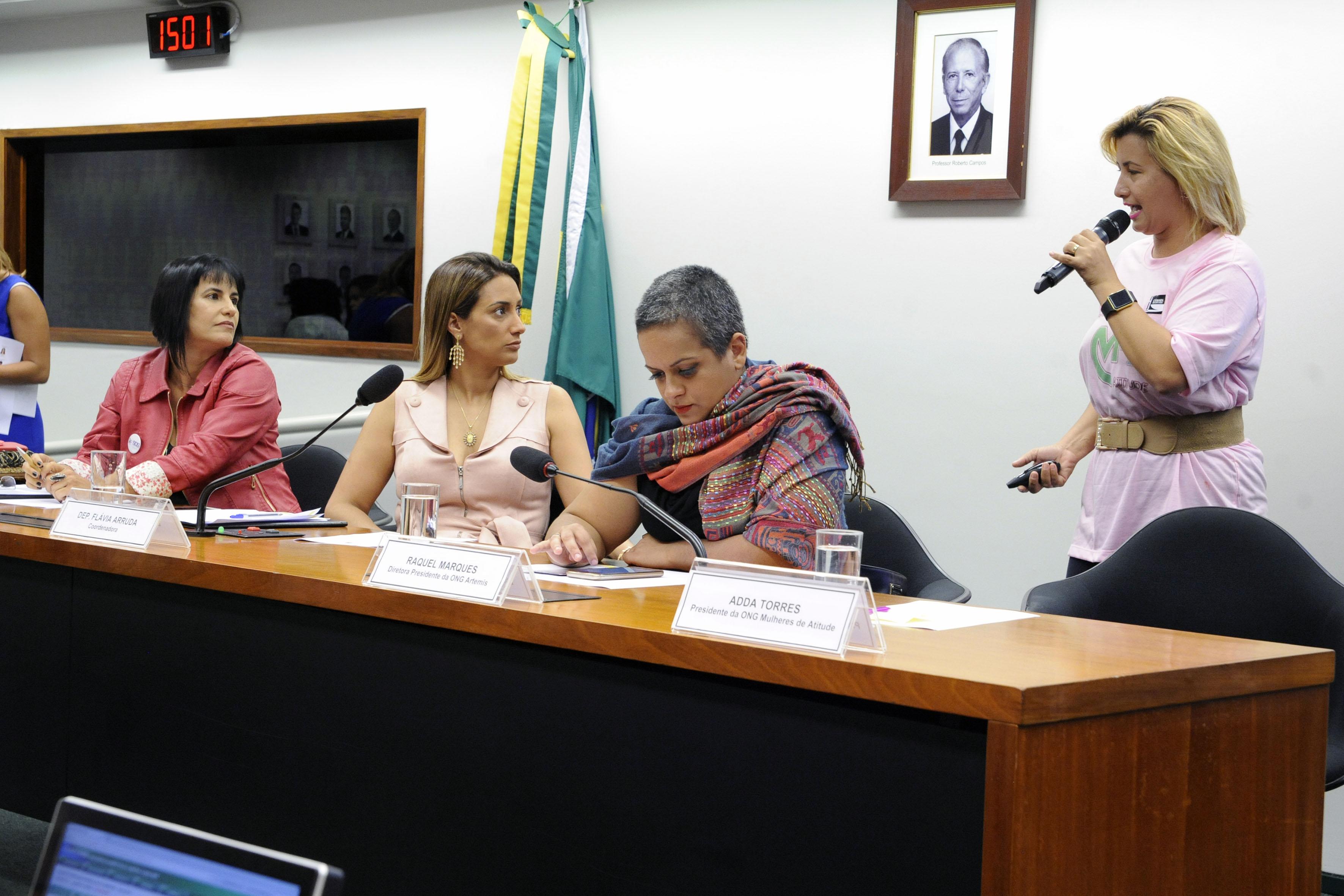 Audiência pública sobre as atuações no enfrentamento à violência contra as mulheres e feminicídio