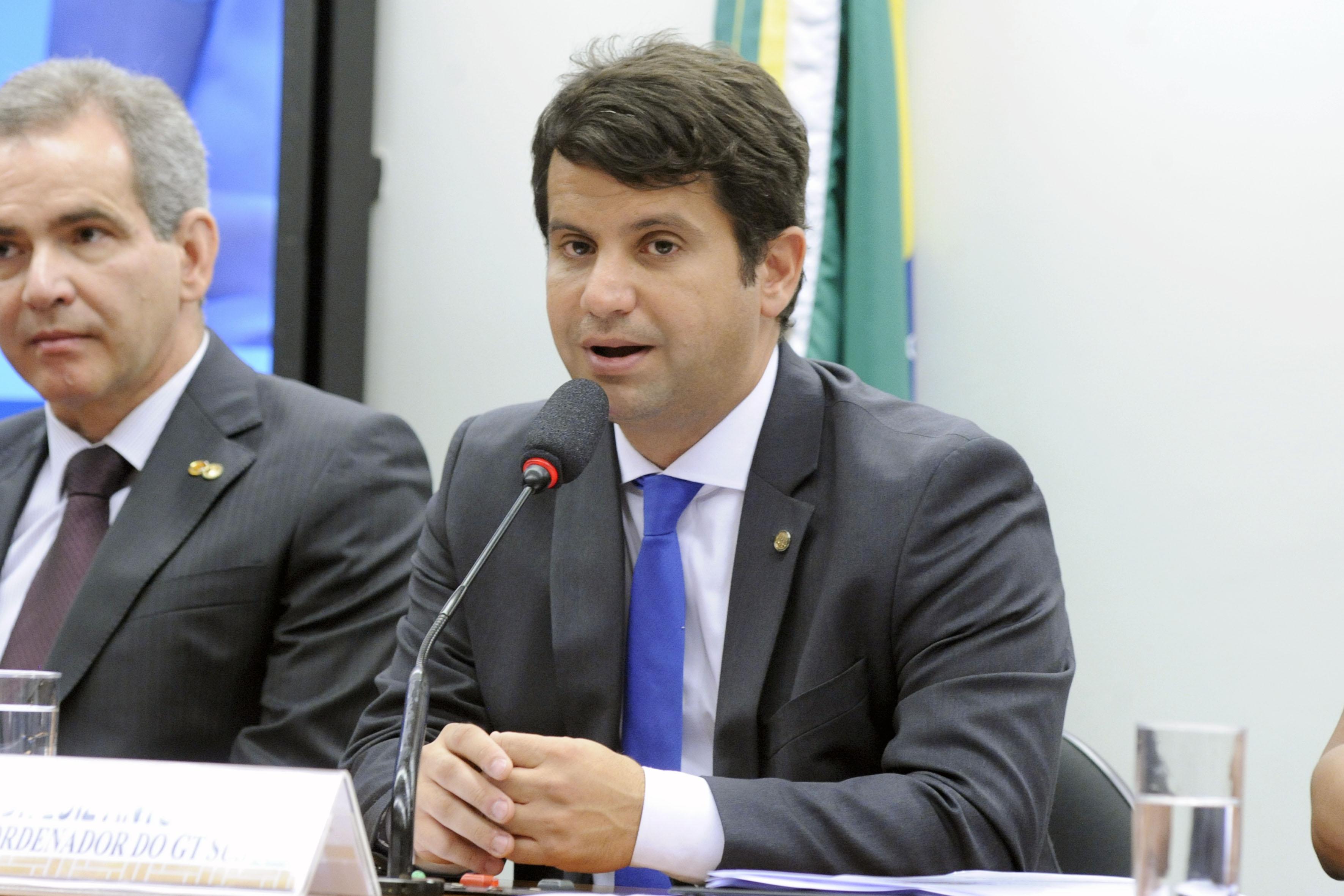 Audiência pública para debater a atualização e a modernização da Tabela SUS. Dep. Dr. Luiz Antonio Teixeira Jr. (PP - RJ)