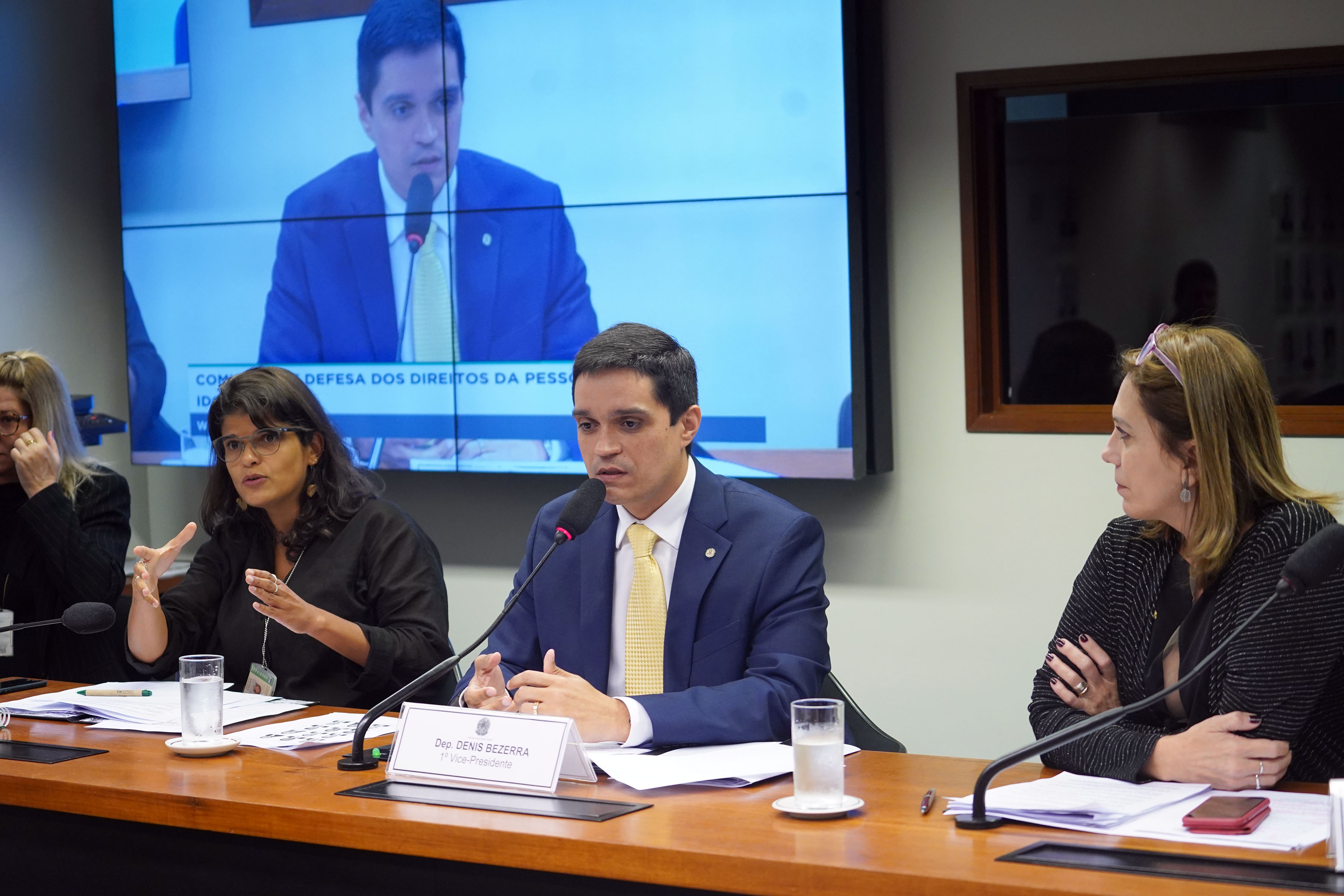 Audiência pública sobre os planos de saúde e a crescente população idosa no Brasil