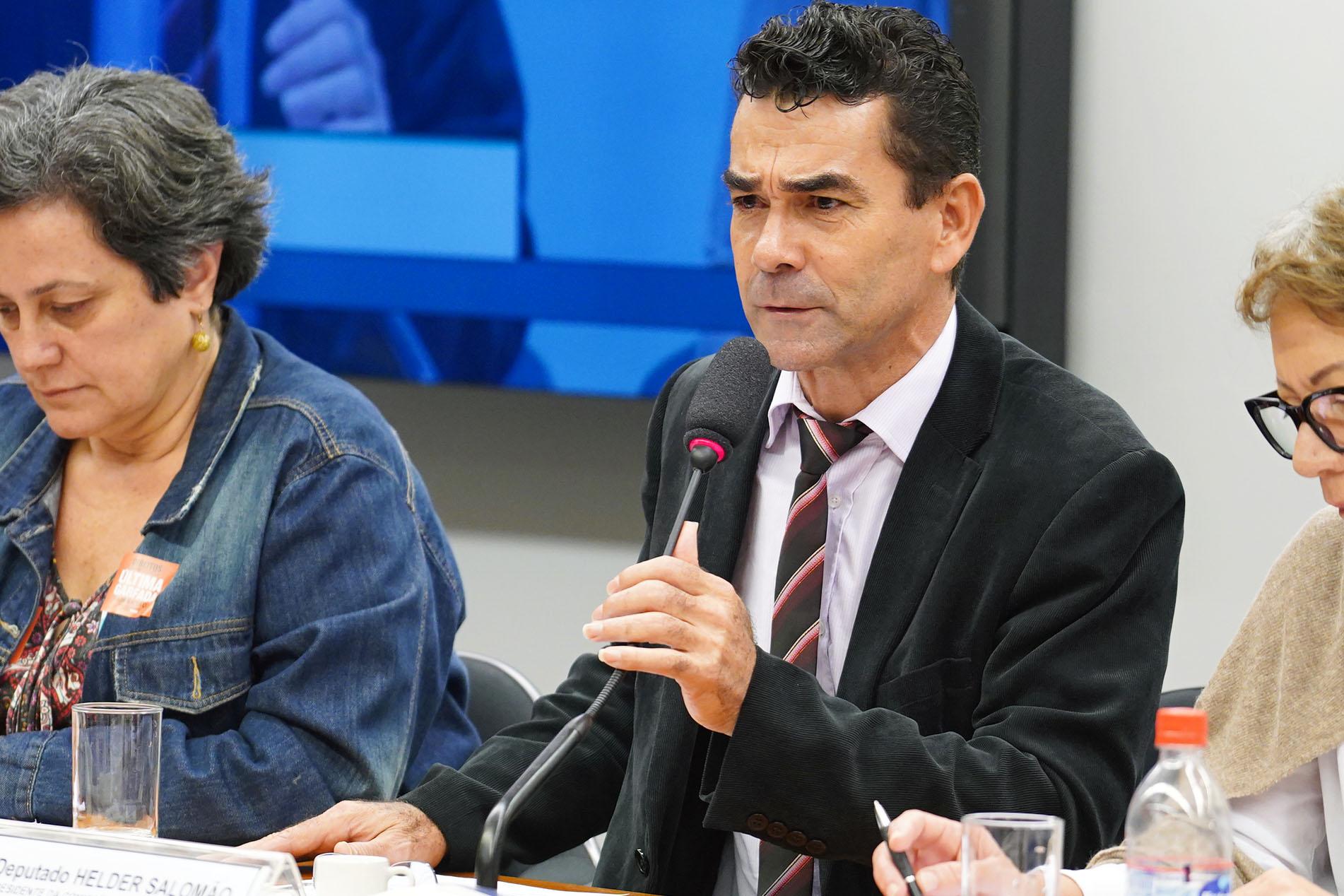 Audiência pública sobre os direitos humanos à alimentação. Dep. Padre João (PT - MG)