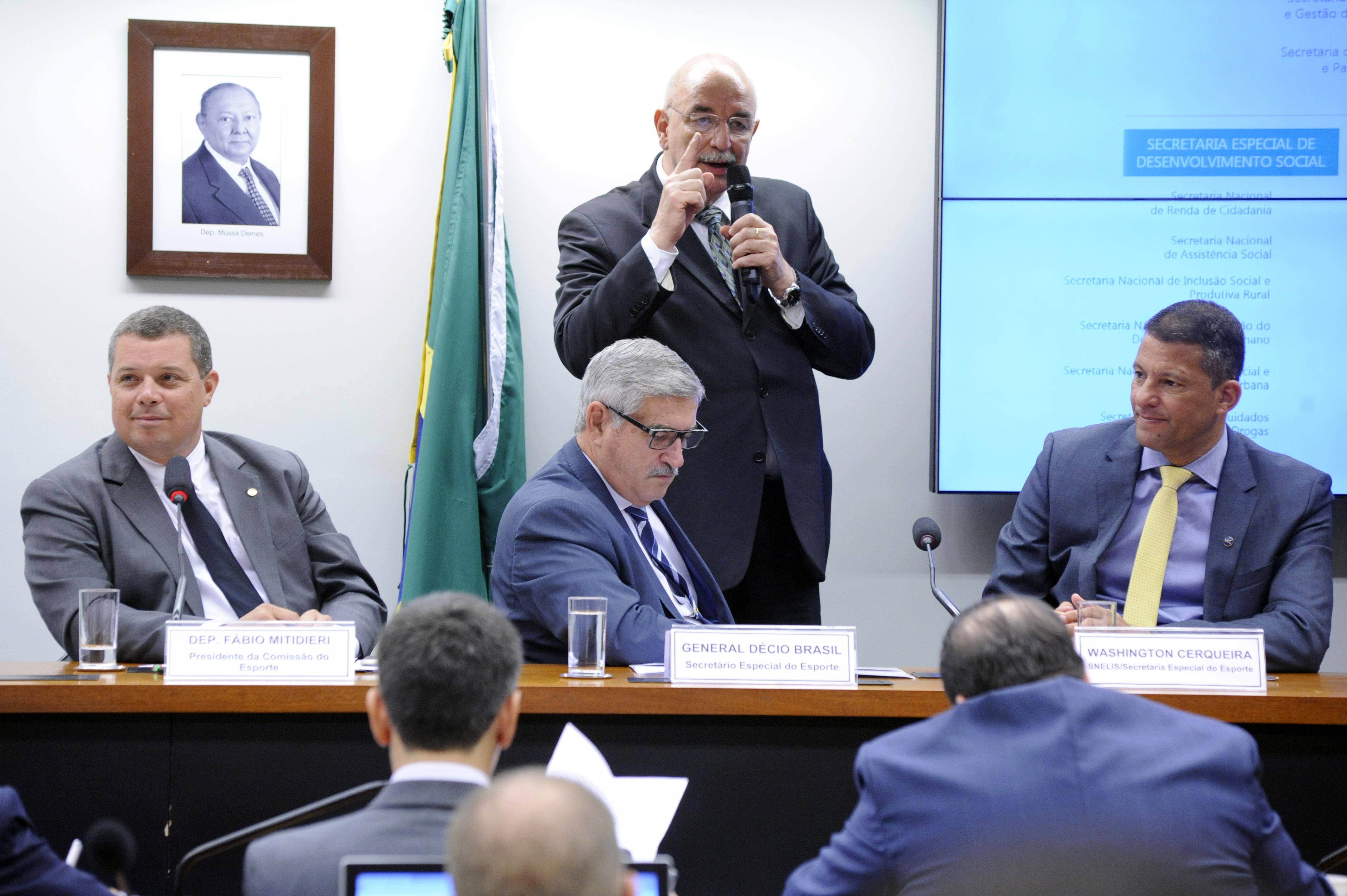 Audiência pública. Ministro da Cidadania, Osmar Terra