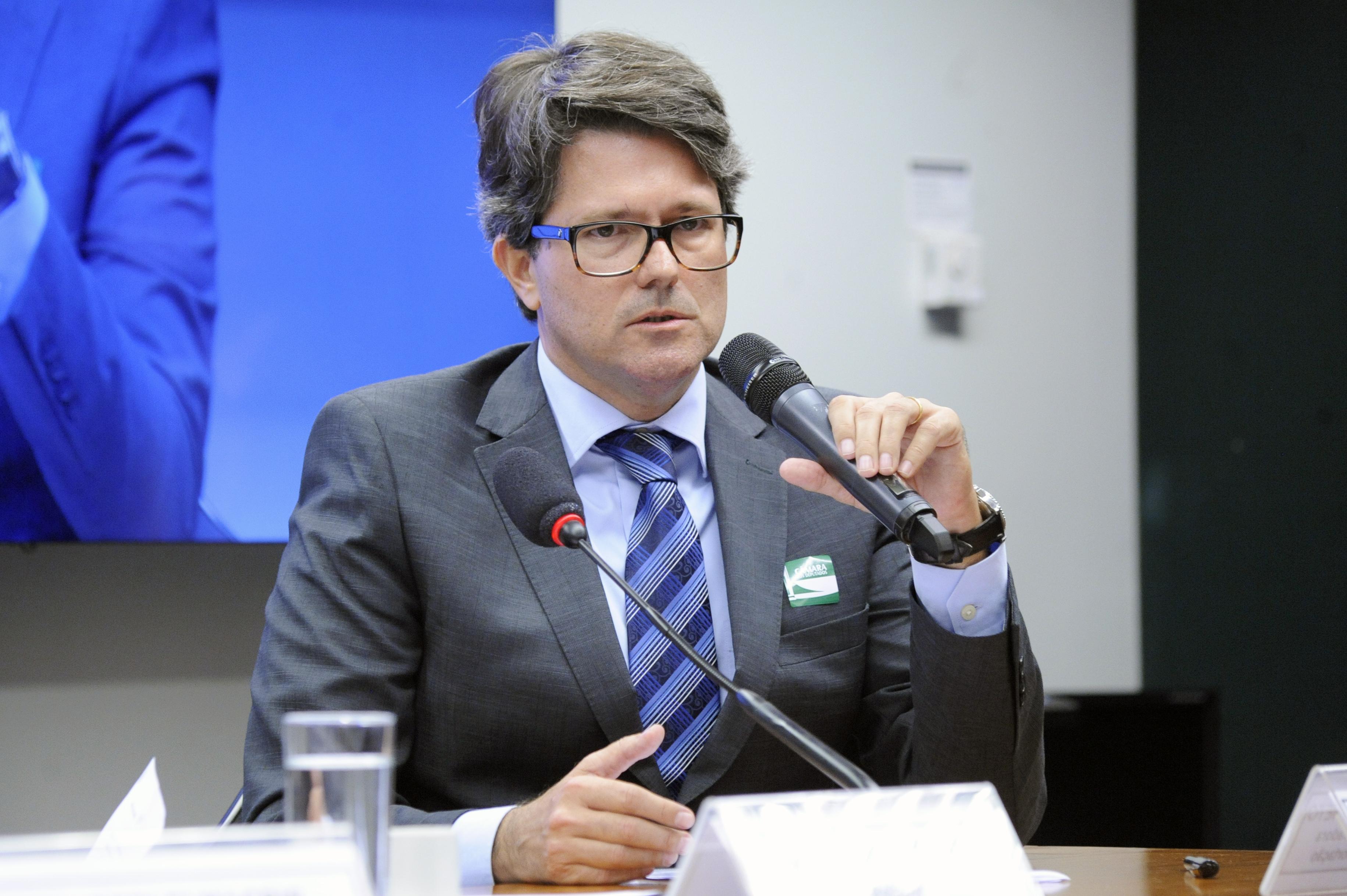 Reunião ordinária para tomada de depoimento. Ex-Gerente de Risco da Seguradora Brasileira de Crédito à Exportação, Rubens Benevides Férrer Neto