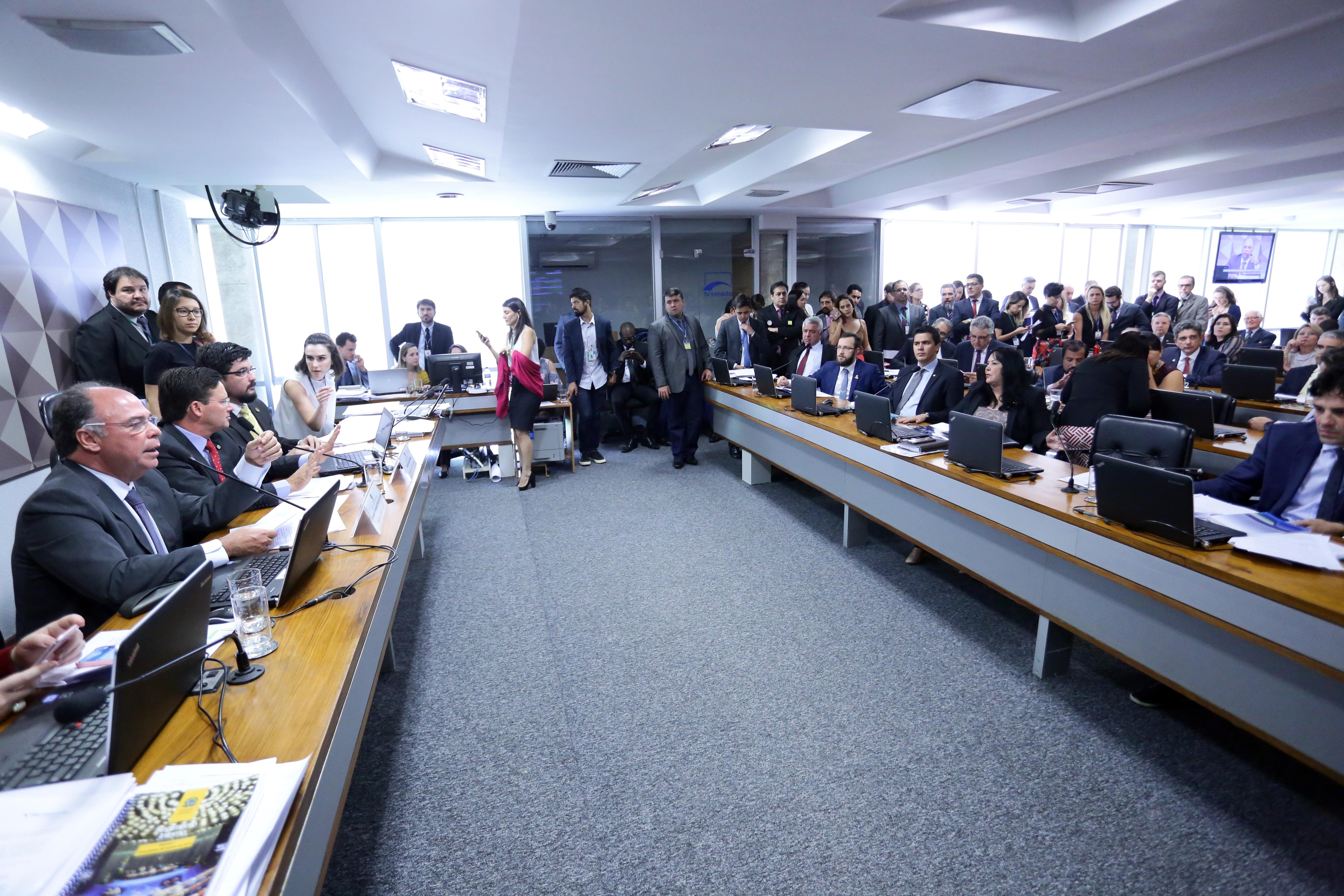 Reunião deliberativa para emitir parecer sobre a Medida Provisória nº 870, de 2019
