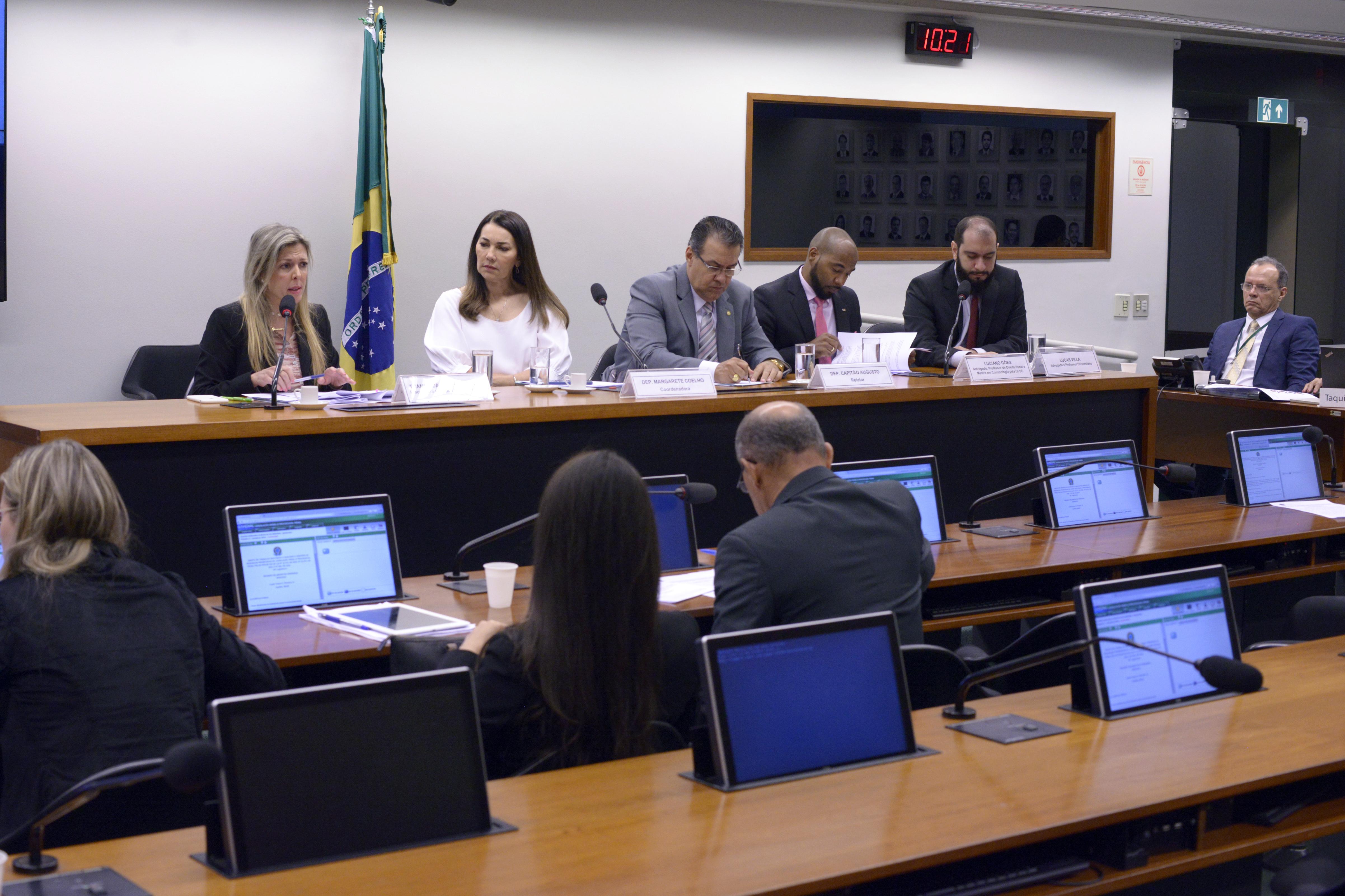 Audiência pública sobre as mudanças na legislação penal e processual penal.