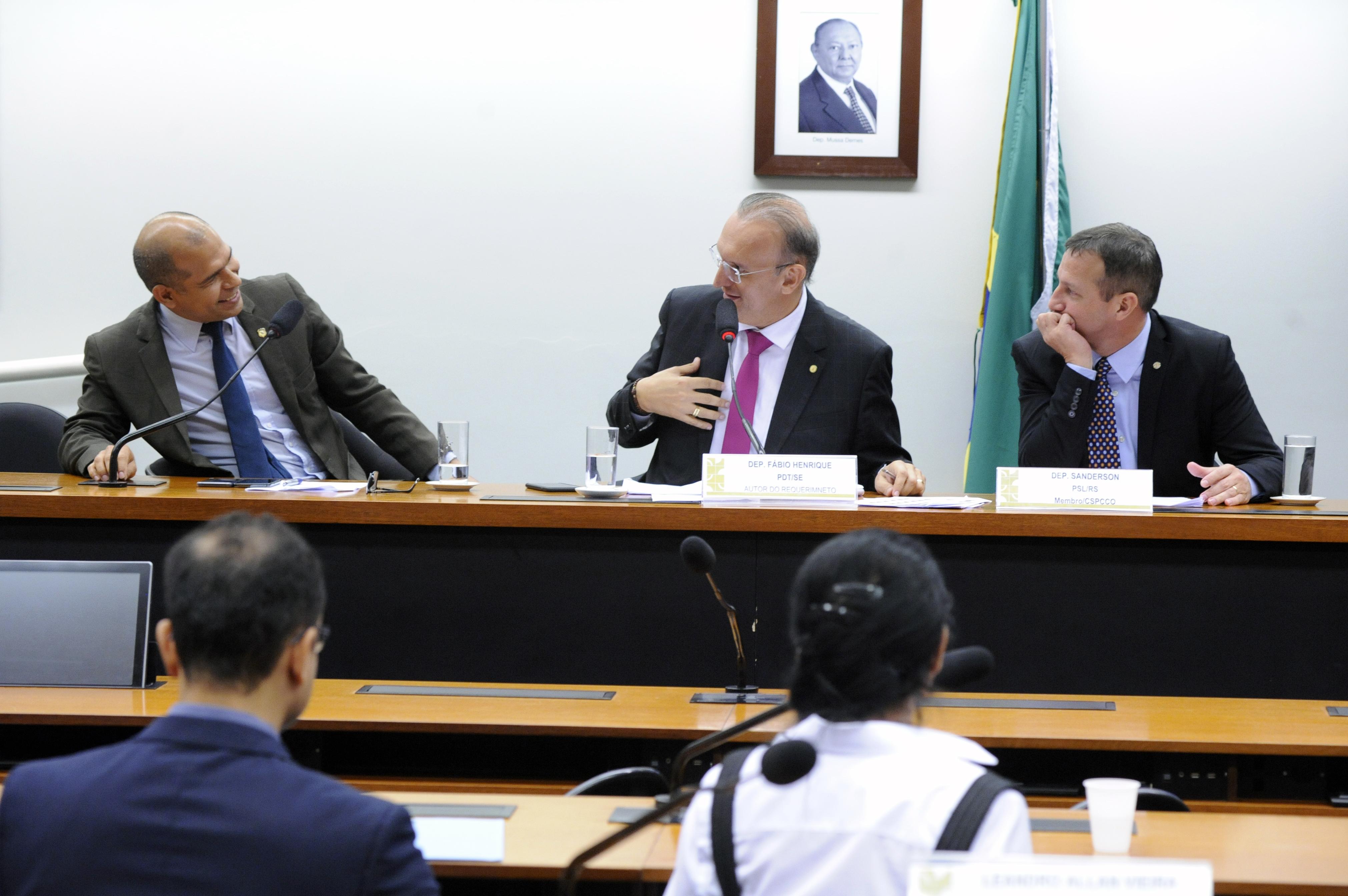 Audiência pública sobre a proposta da Reforma da Previdência para a Segurança Pública
