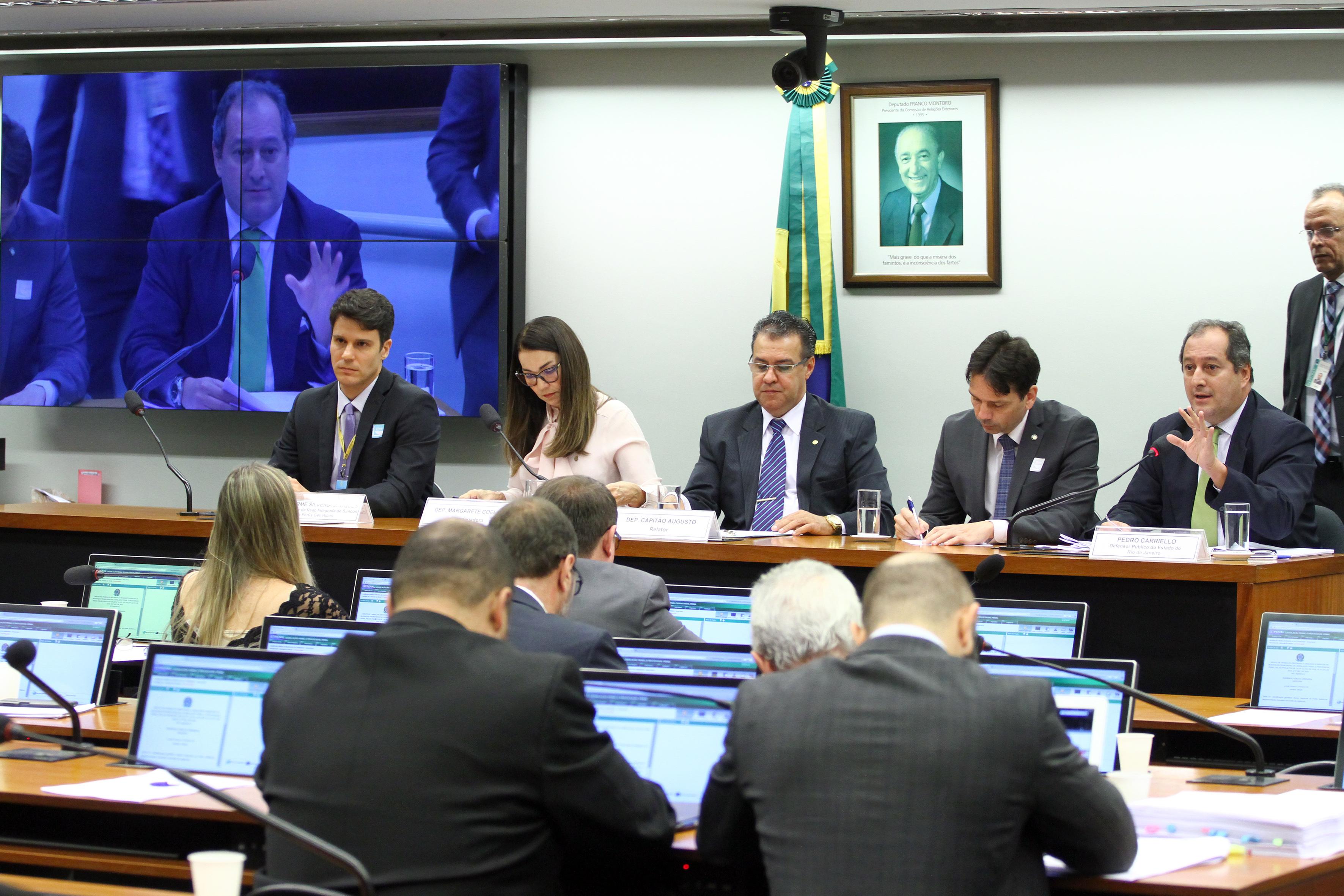 Audiência pública sobre as mudanças na legislação penal e processual penal