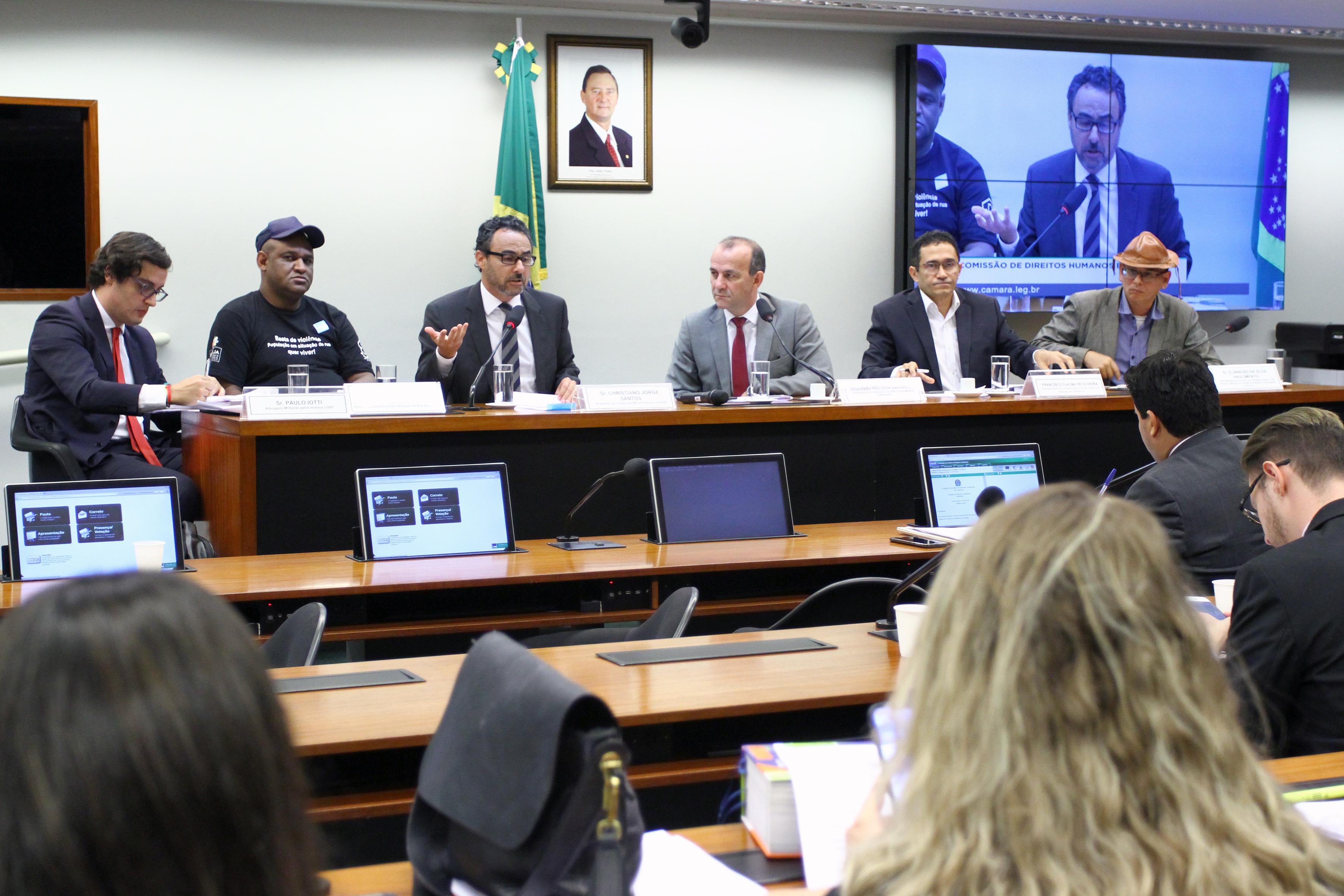 Audiência pública sobre os crimes de ódio e intolerância - PL nº 7582/14