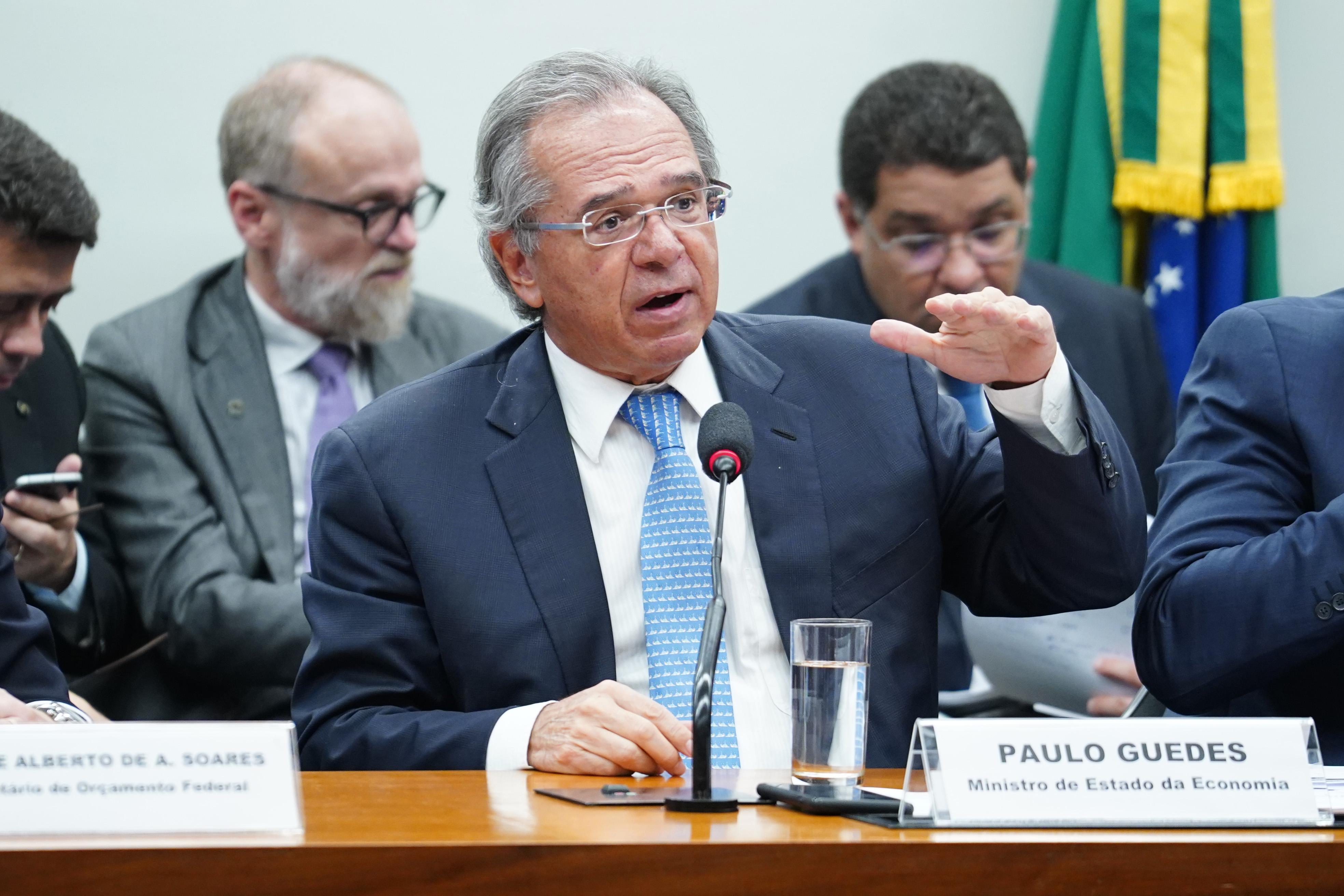 Guedes será ouvido na Comissão de Finanças hoje à tarde