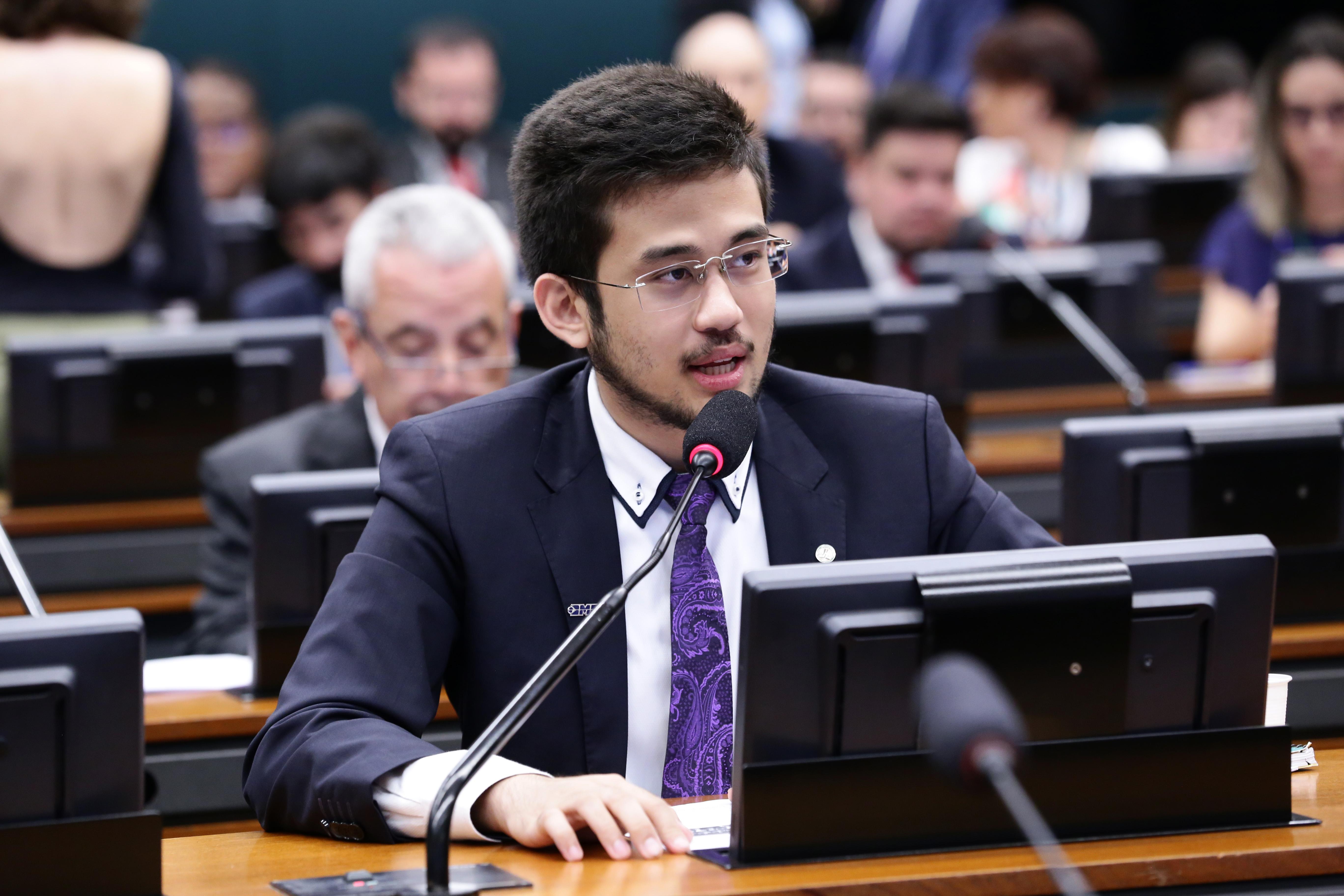 Reunião Ordinária para eleição de 2º e 3º Vice-Presidentes e deliberação de proposições. Dep. Kim Kataguiri (DEM-SP)