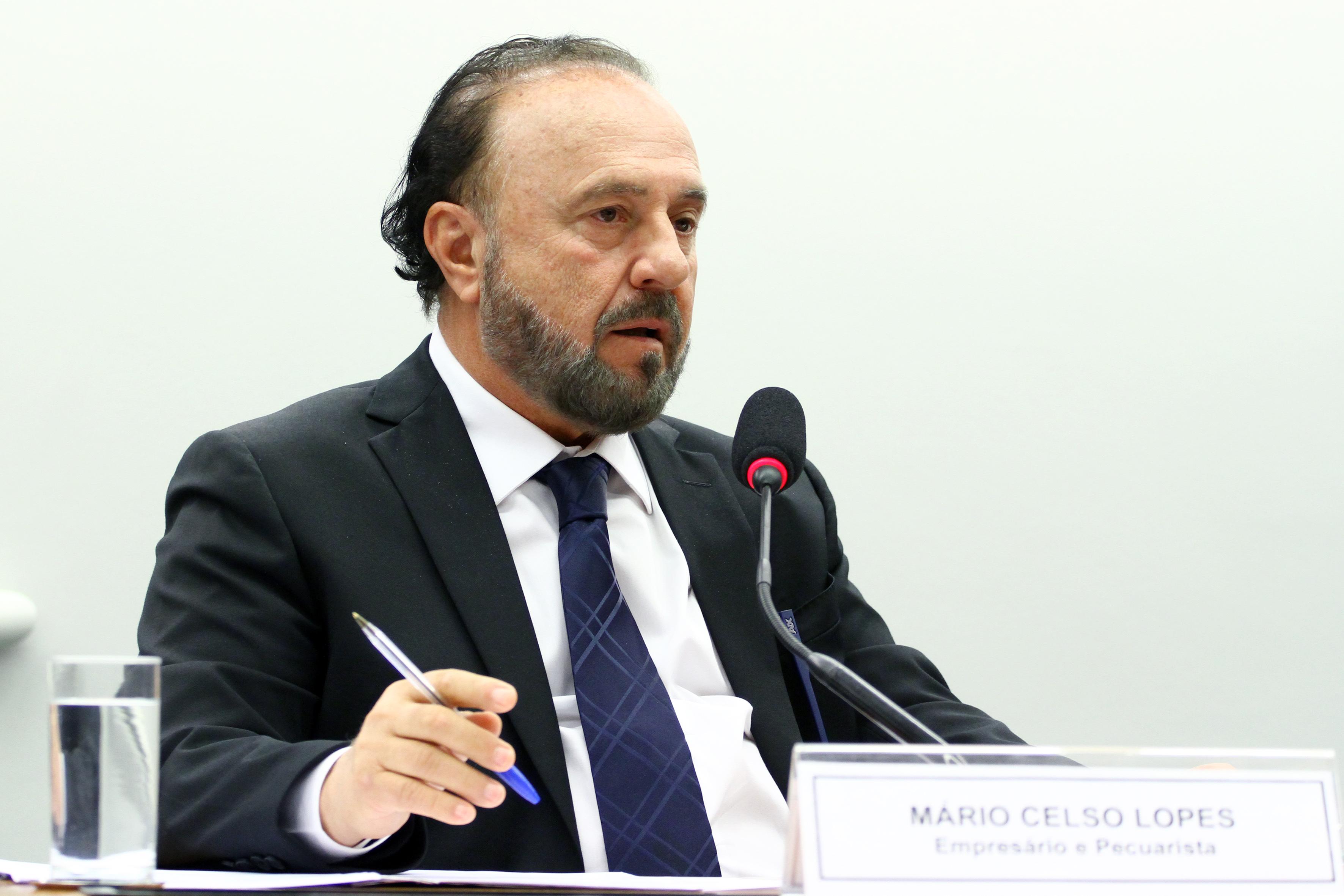 Reunião ordinária. Depoente, Mário Celso Lopes