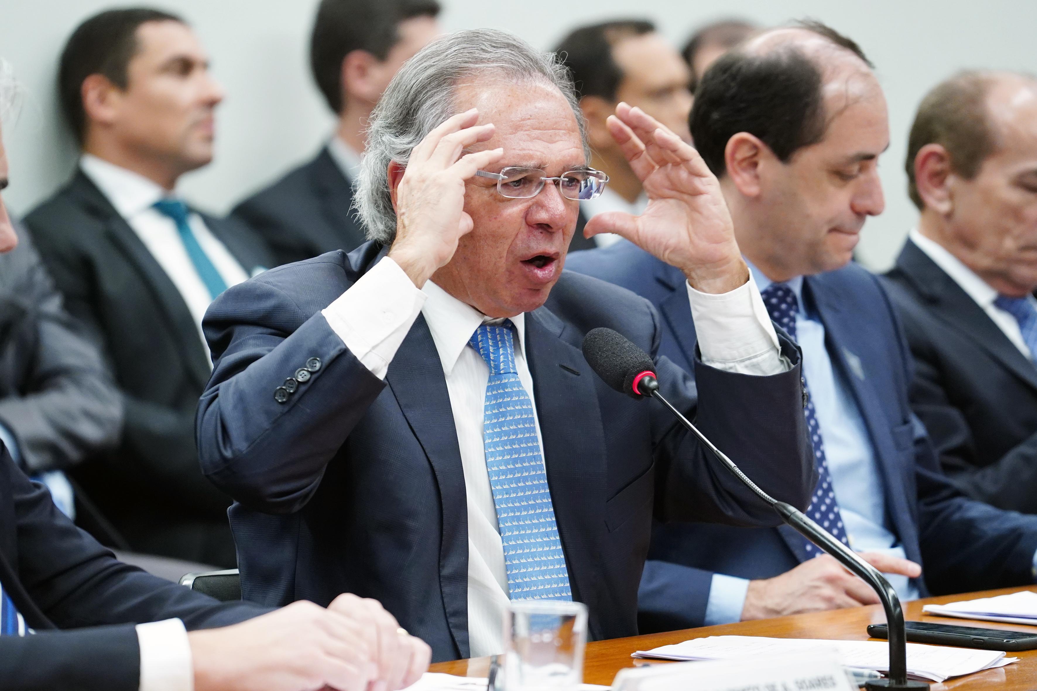Audiência Pública sobre o PL 5/19-CN. Ministro da Economia, Paulo Roberto Nunes Guedes