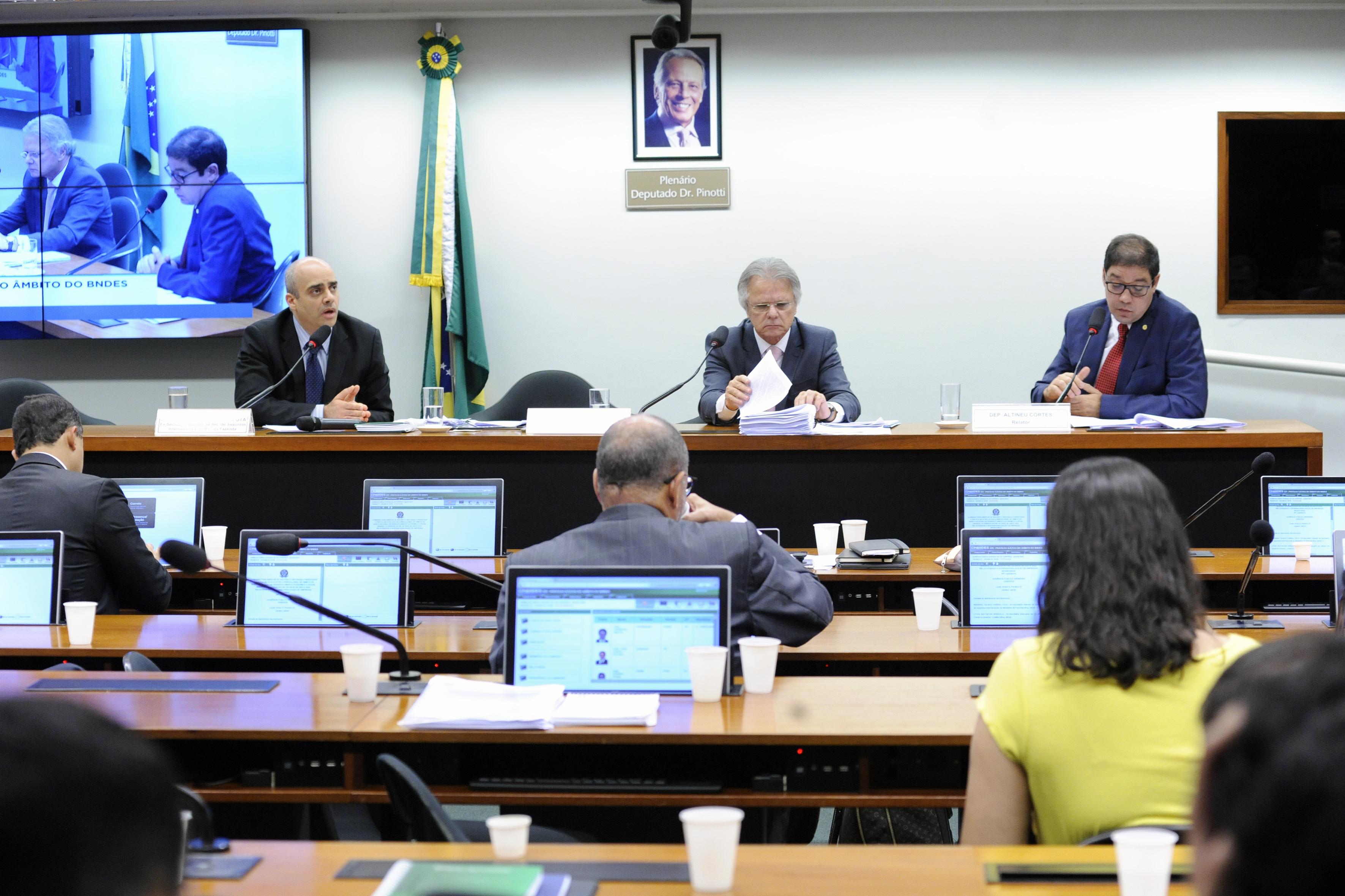 Audiência pública para tomada de depoimento