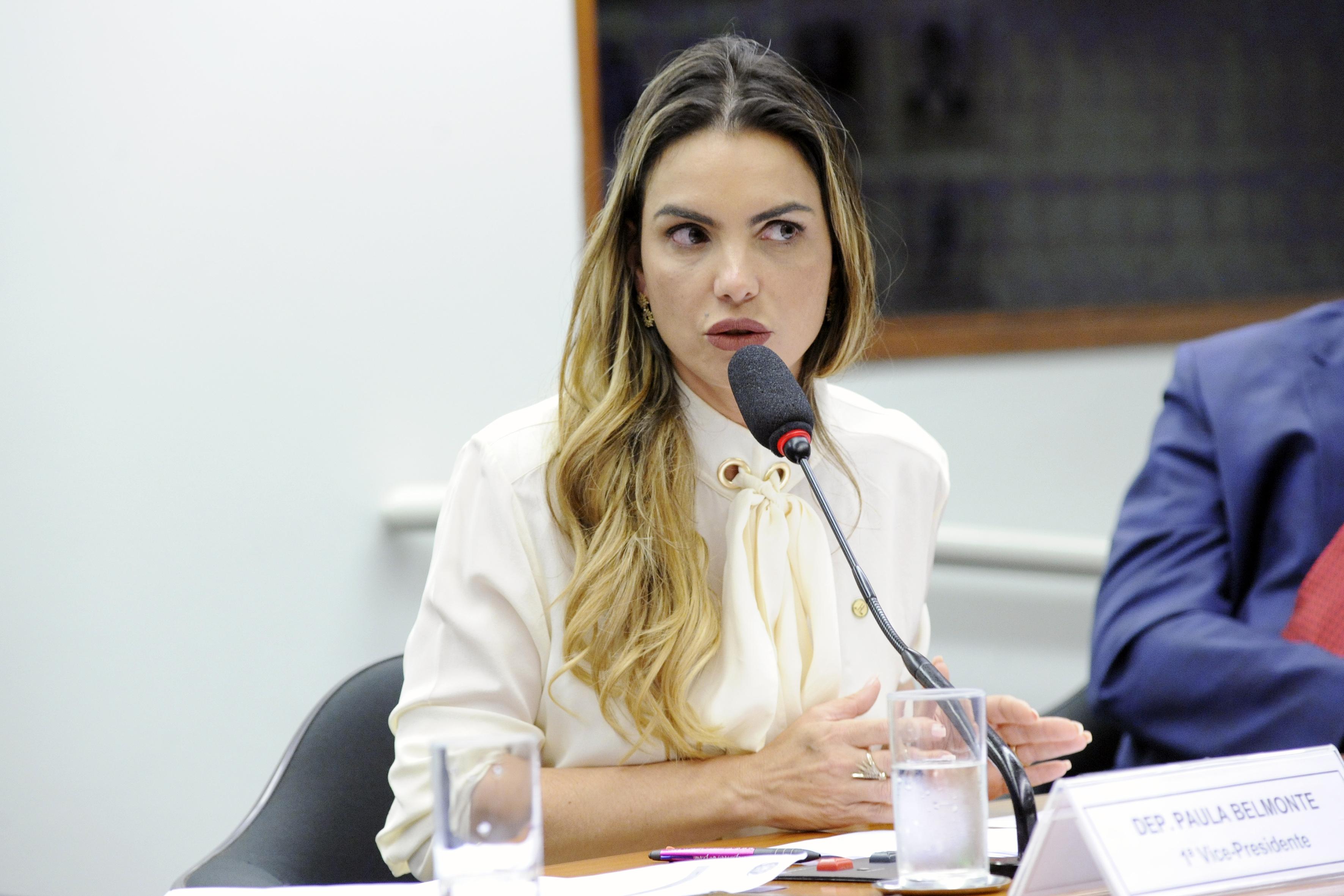 Audiência pública para tomada de depoimento. Dep. Paula Belmonte (CIDADANIA - DF)