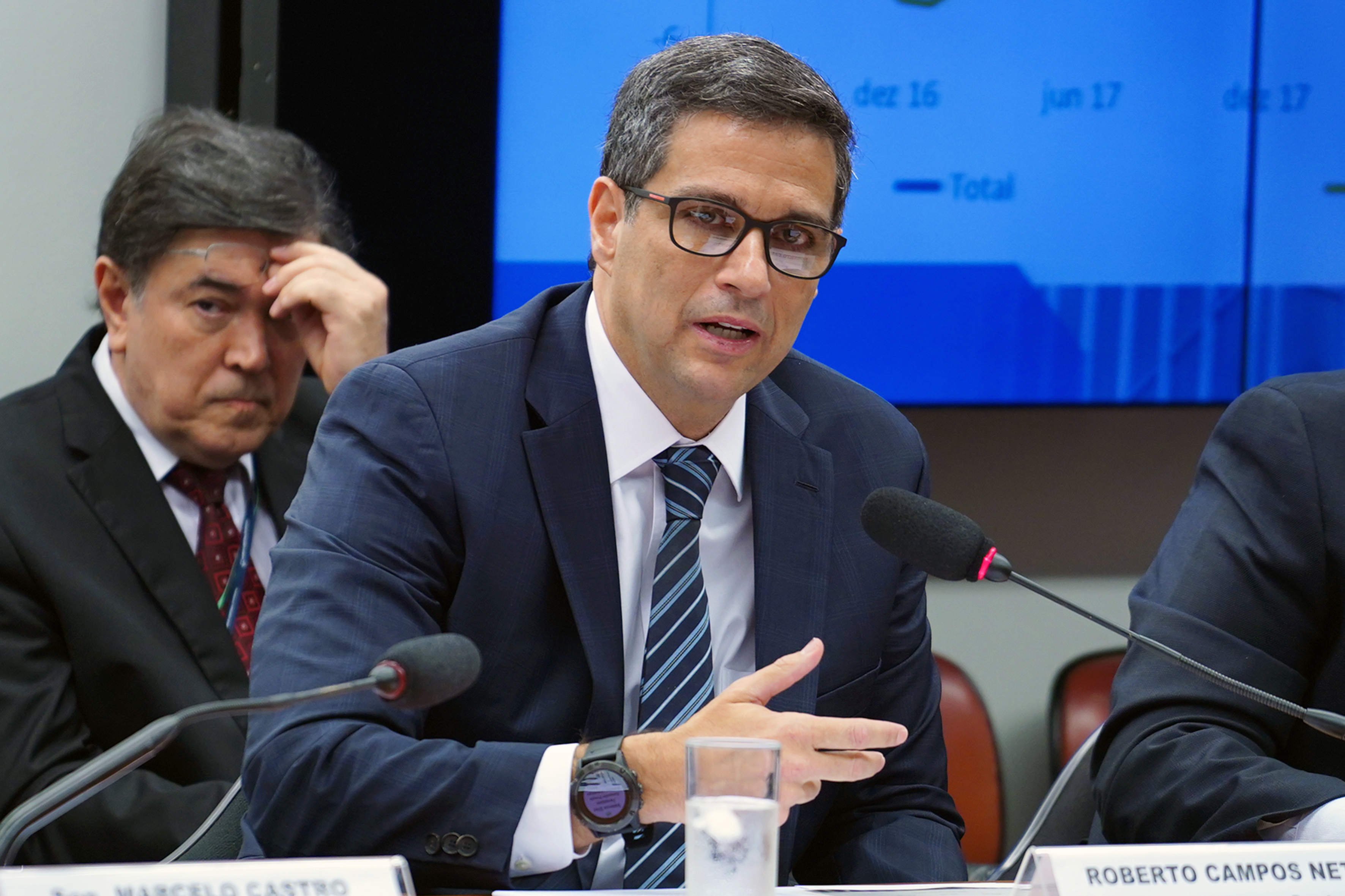 Audiência pública sobre a avaliação do cumprimento dos objetivos e metas das políticas monetária, creditícia e cambial. Presidente do Banco Central do Brasil, Roberto Campos Neto