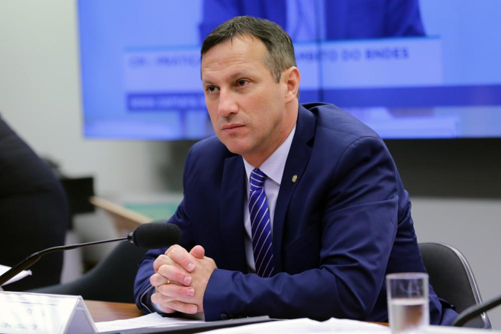 Reunião ordinária para tomada de depoimento do ex-ministro da Fazenda, Guido Mantega. Dep. Sanderson (PSL-RS)