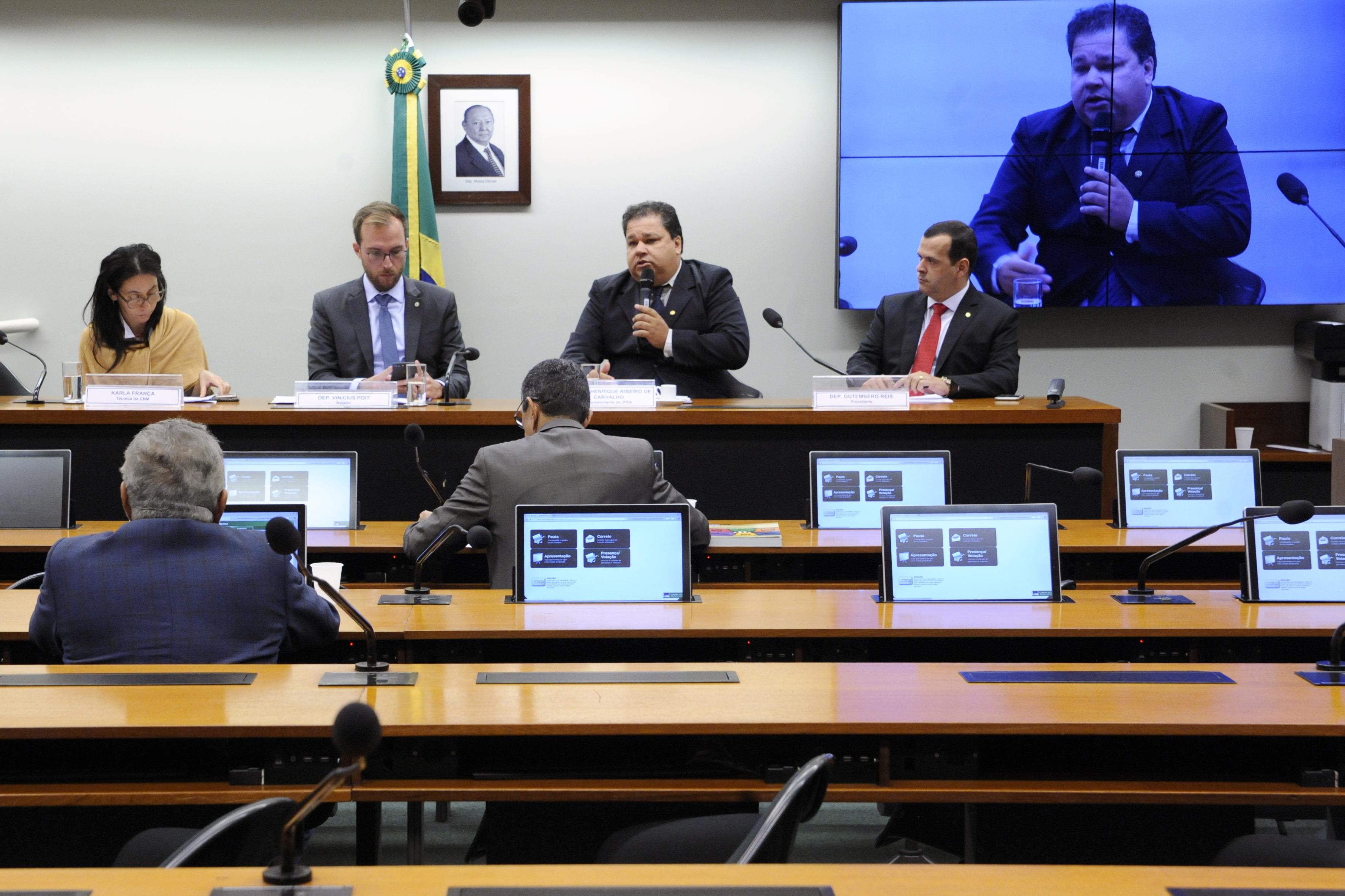 Audiência pública sobre a gestão da mobilidade nas regiões metropolitanas brasileiras - desafios e soluções possíveis