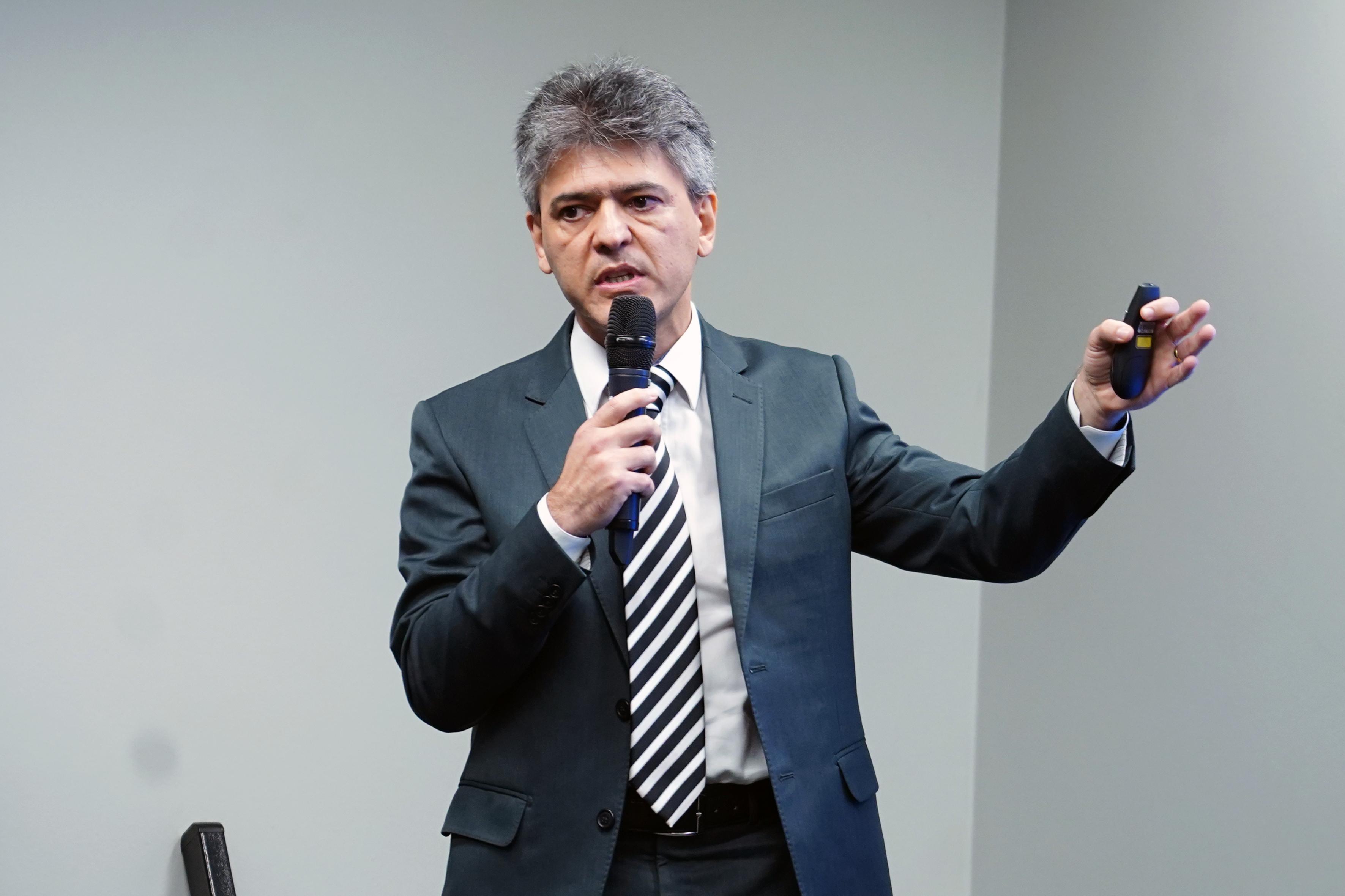 Audiência pública sobre as categorias com Critérios Diferenciados de Aposentadoria. Secretário Especial Adjunto de Previdência do Ministério da Economia, Narlon Gutierre Nogueira