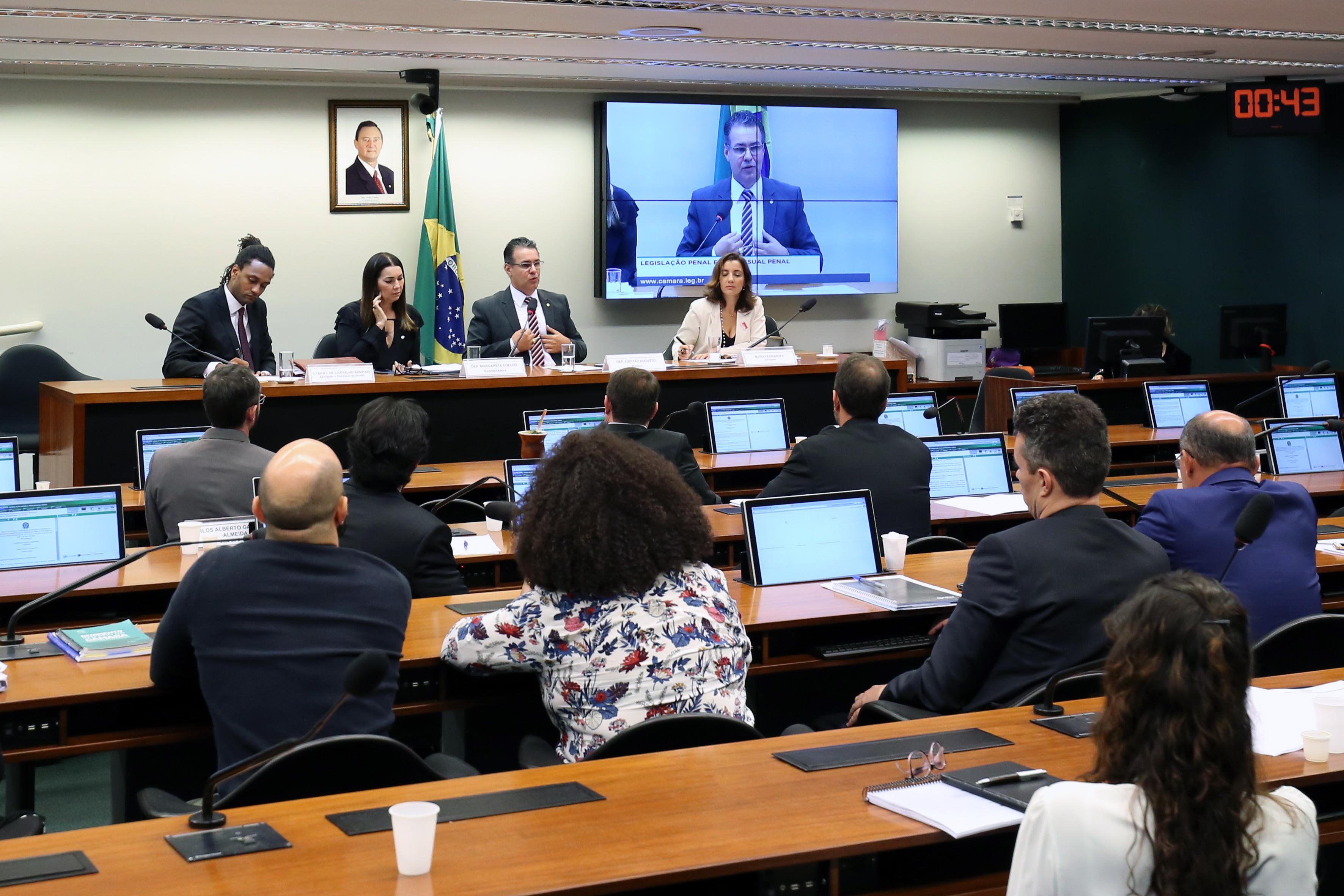 Audiência Pública para análise das Mudanças na Legislação Penal e Processual Penal