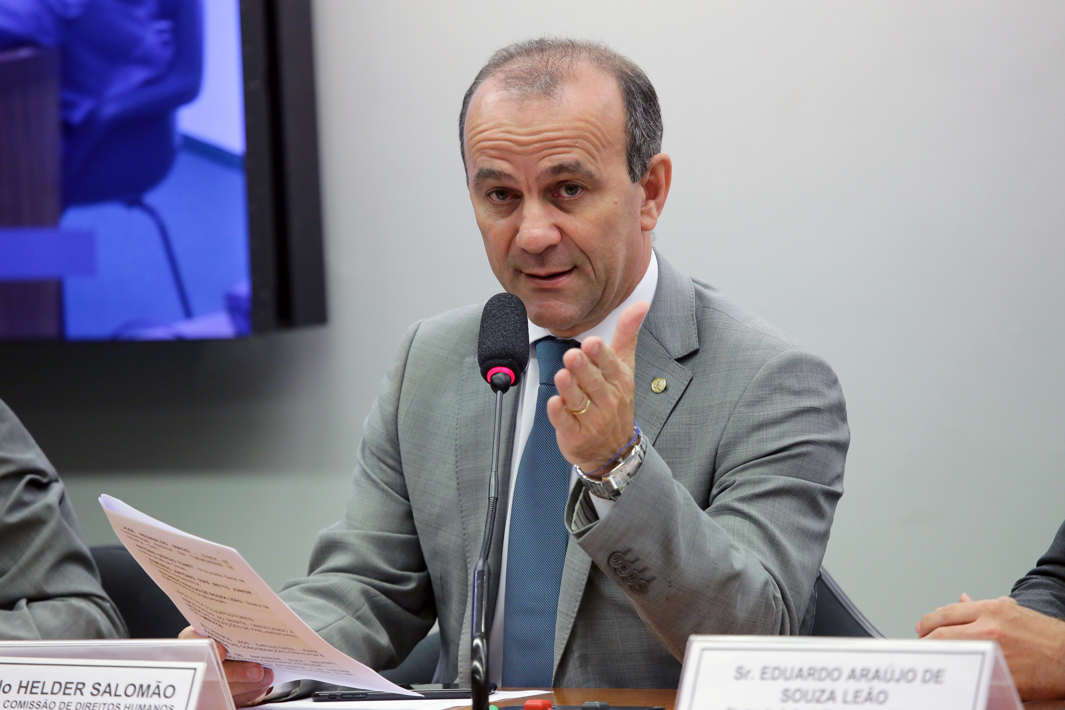Audiência pública para a avaliação dos aspectos econômicos e institucionais do desastre da Vale em Brumadinho. Dep. Helder Salomão (PT-ES)