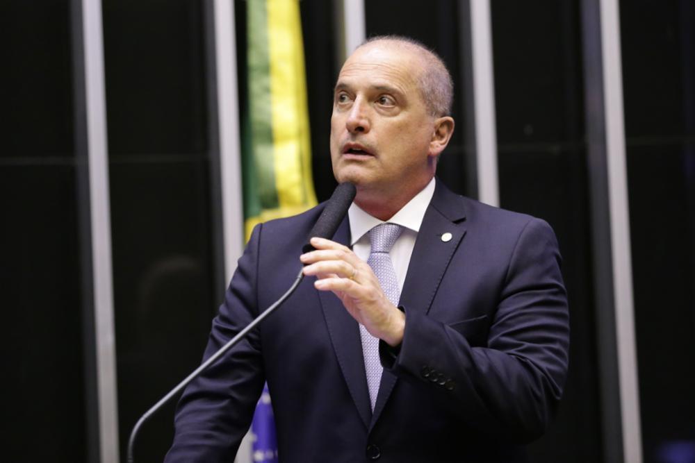 Homenagem ao Senhor Carlos Alberto de Nóbrega. Ministro-chefe da Casa Civil da Presidência da República, Onyx Lorenzoni