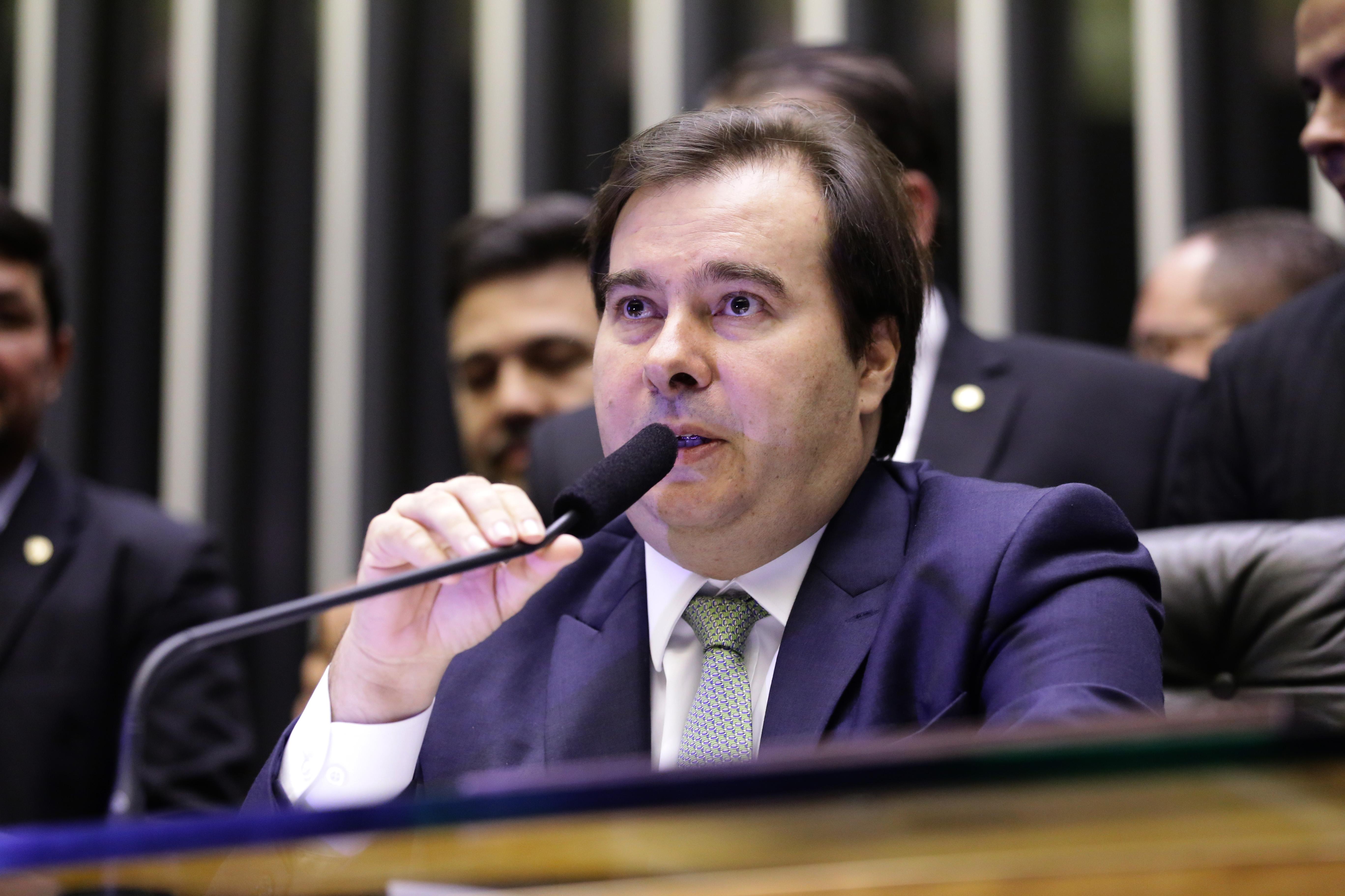 Homenagem ao Senhor Carlos Alberto de Nóbrega.  Presidente da Câmara dos Deputados, dep. Rodrigo Maia (DEM-RJ)