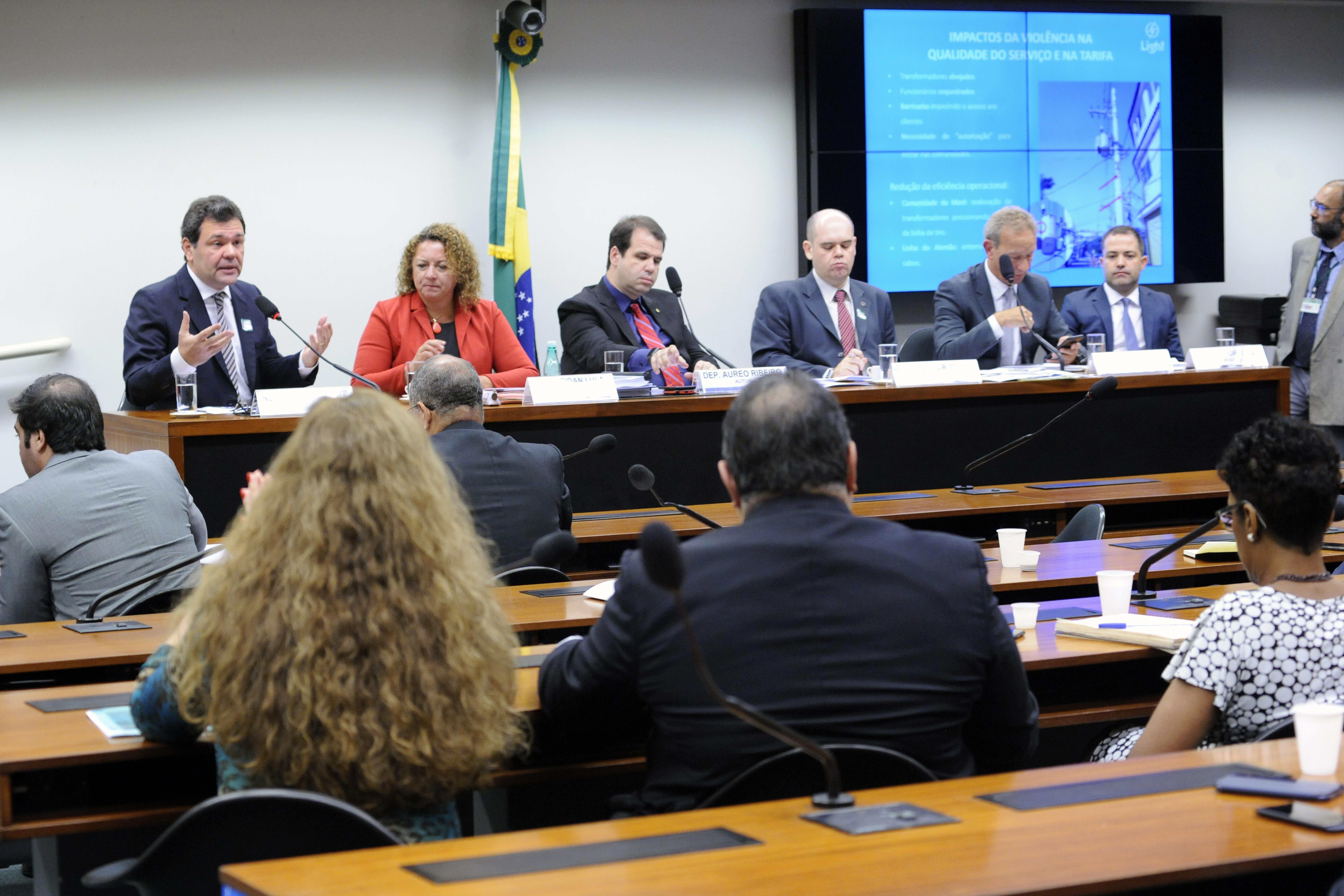 Audiência pública sobre a cobrança pelas concessionárias de energia elétrica de valores oriundos de desvios e falhas na distribuição de energia elétrica