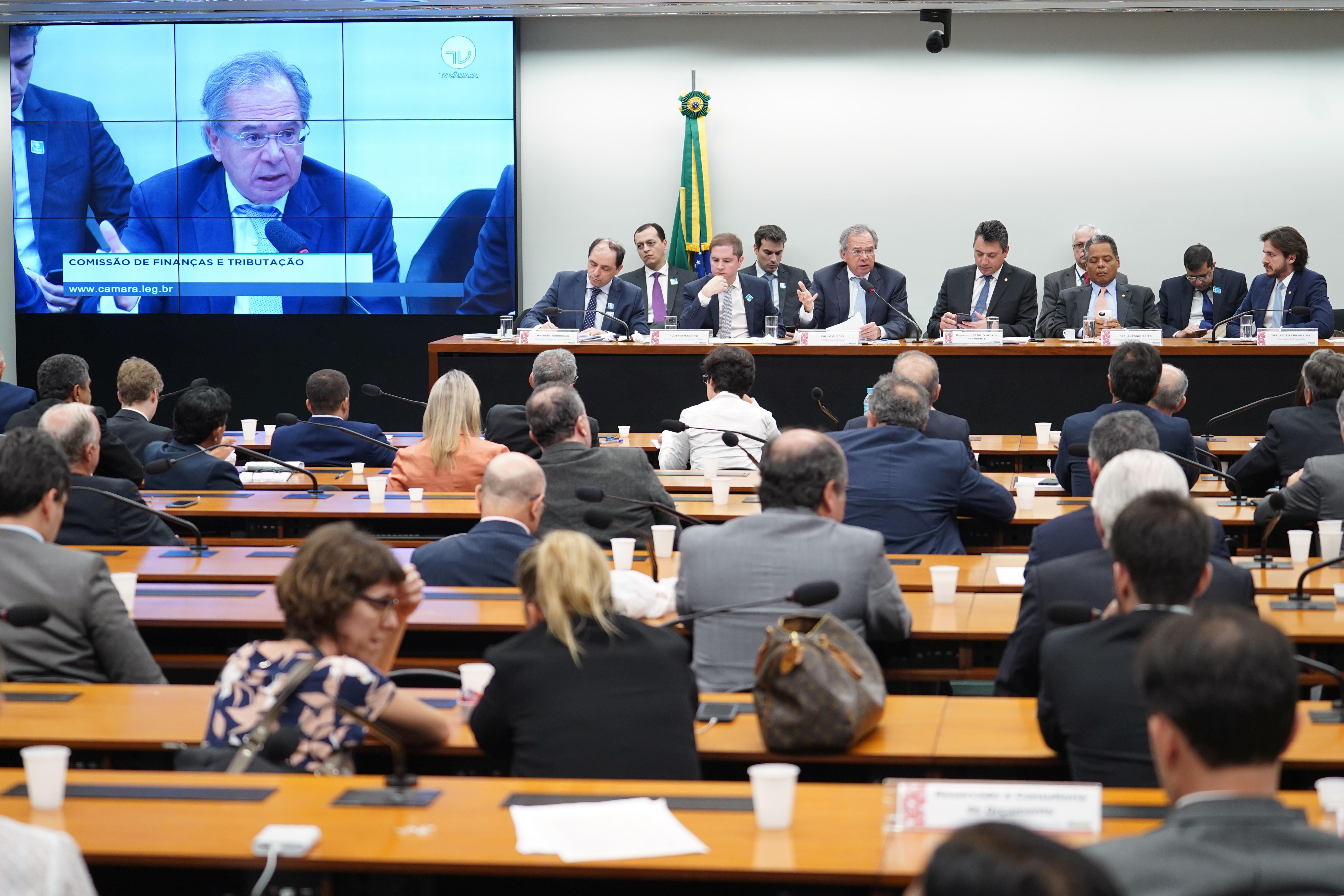 Audiência pública sobre os impactos econômicos e financeiros da Reforma da Previdência