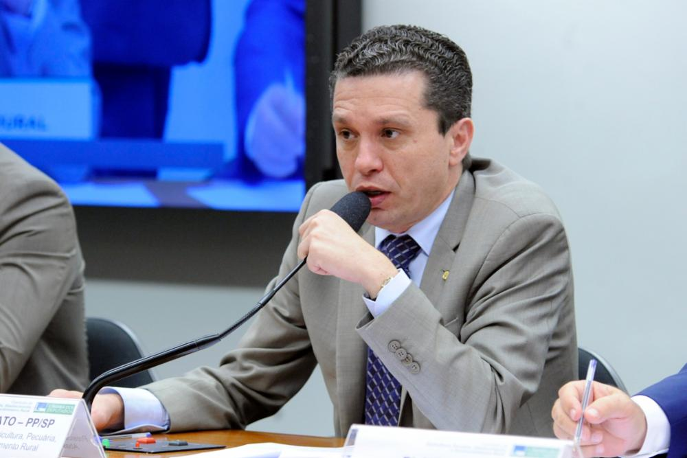 Audiência pública sobre a conjuntura do agronegócio brasileiro e as perspectivas futuras. Dep. Fausto Pinato (PP-SP)