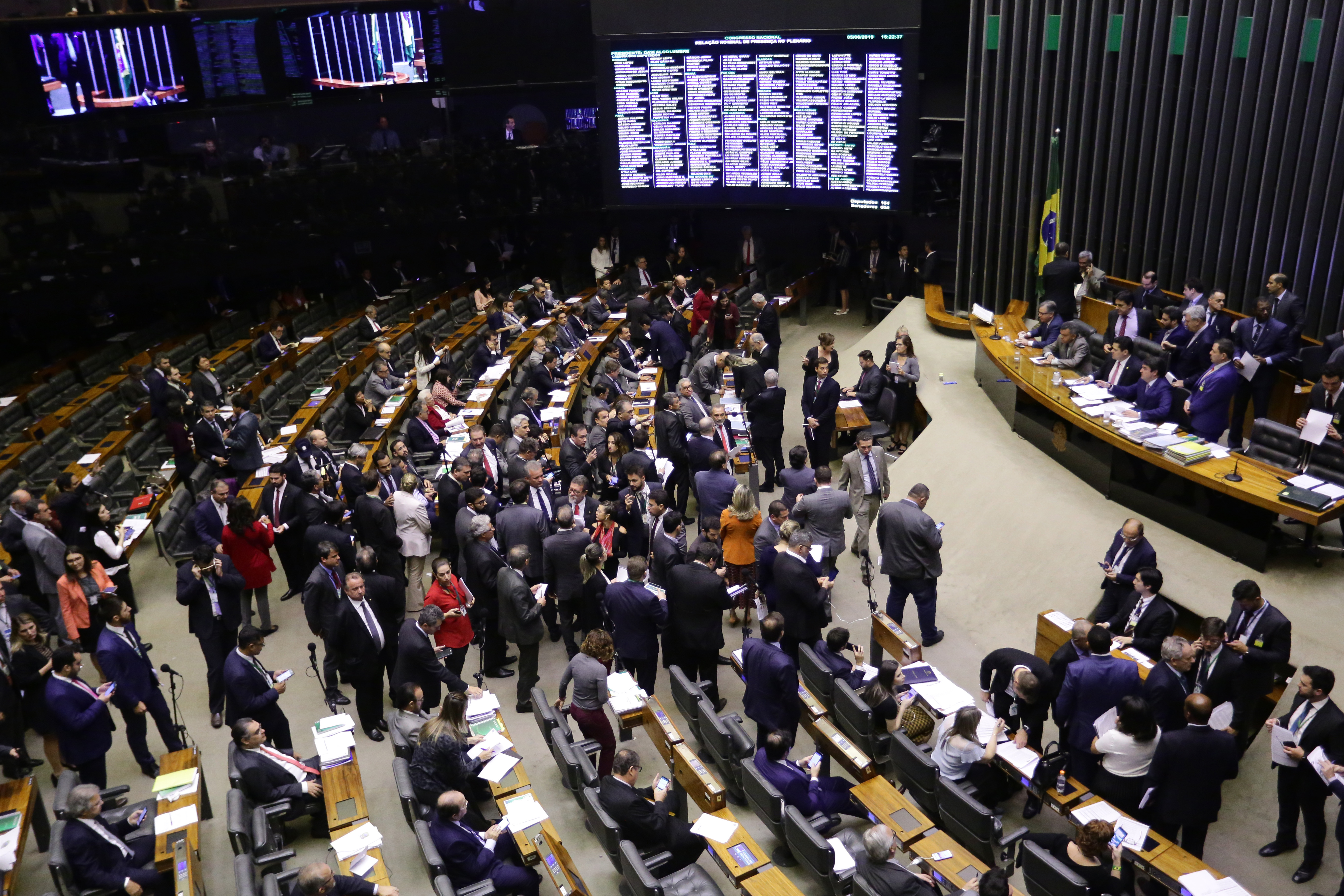Sessão do Congresso Nacional destinada à deliberação de vetos e do Projeto de Lei do Congresso Nacional nº 4 de 2019