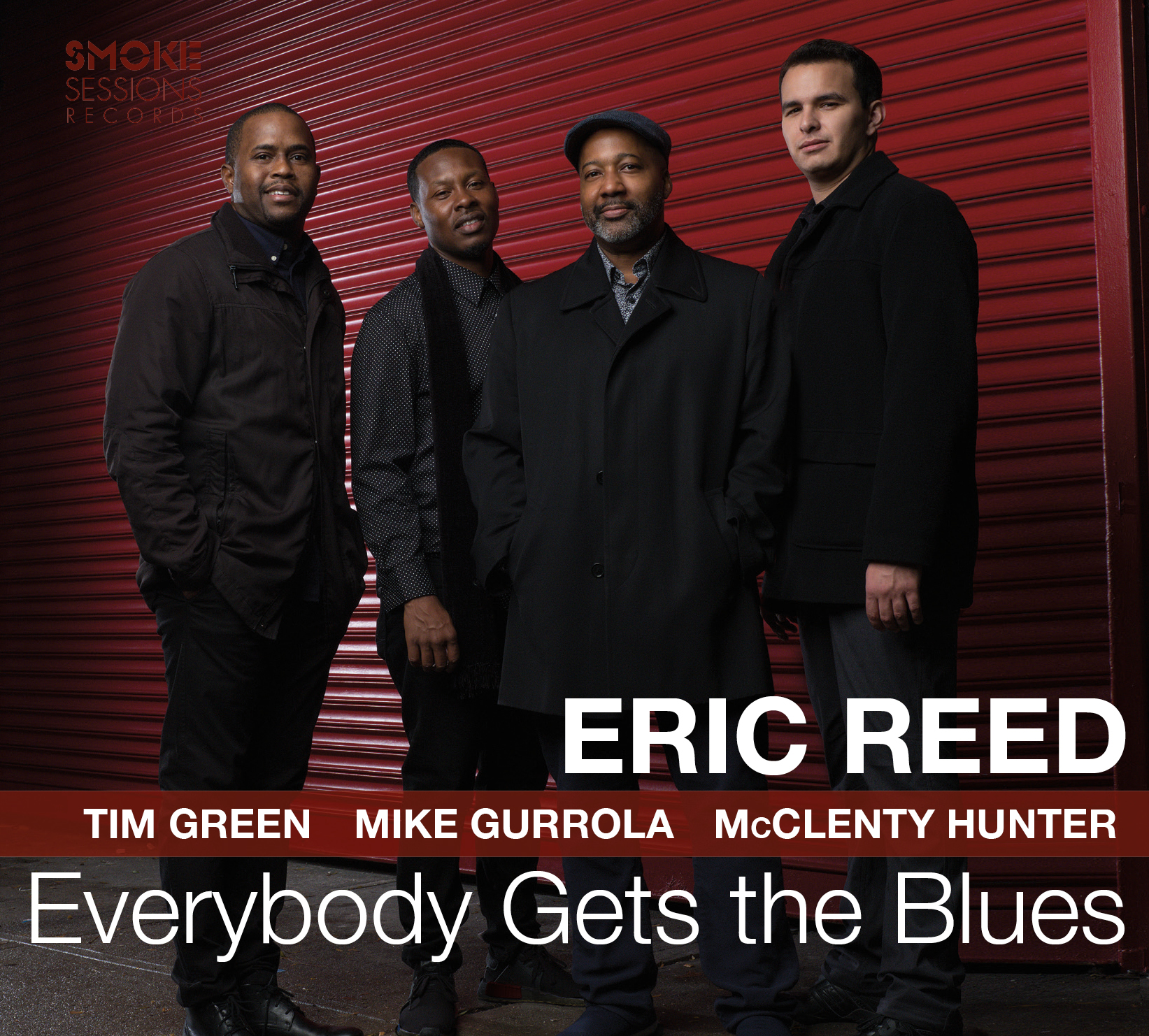 Eric Reed - capa do disco