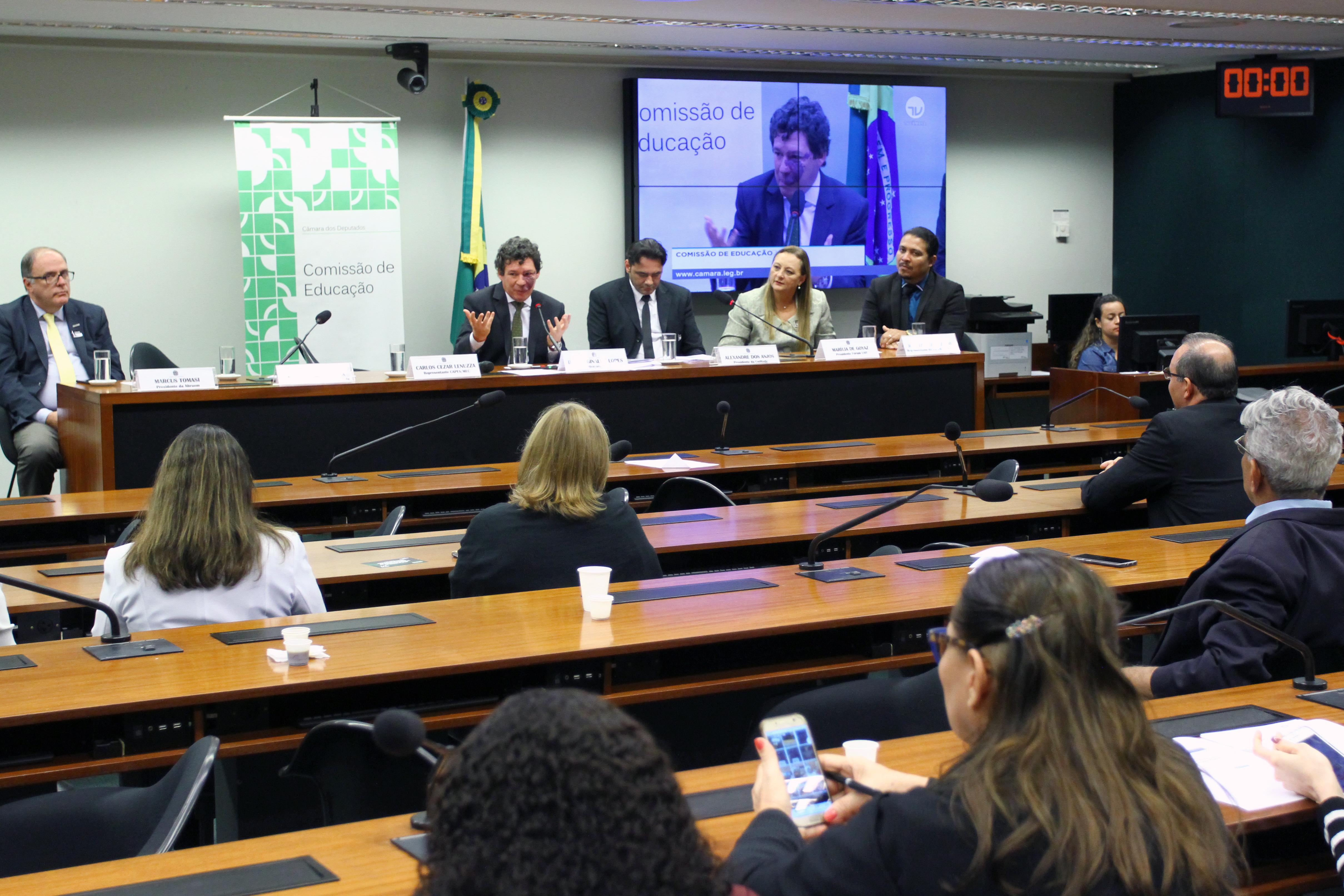 Audiência pública sobre as políticas para a educação a distância