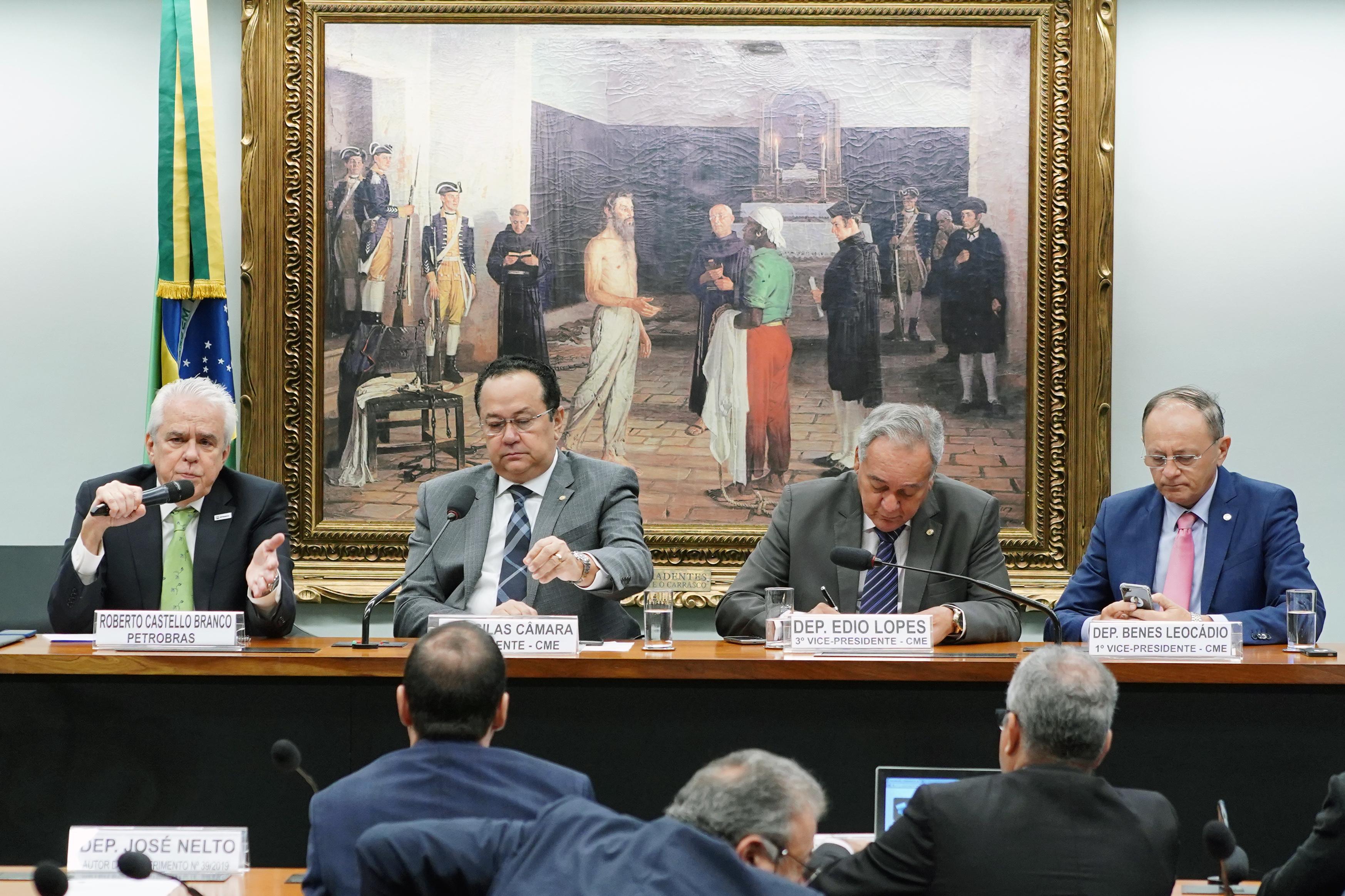 Audiência pública para explanação sobre as diversas áreas de atuação da Petrobras e outros temas relacionados à empresa