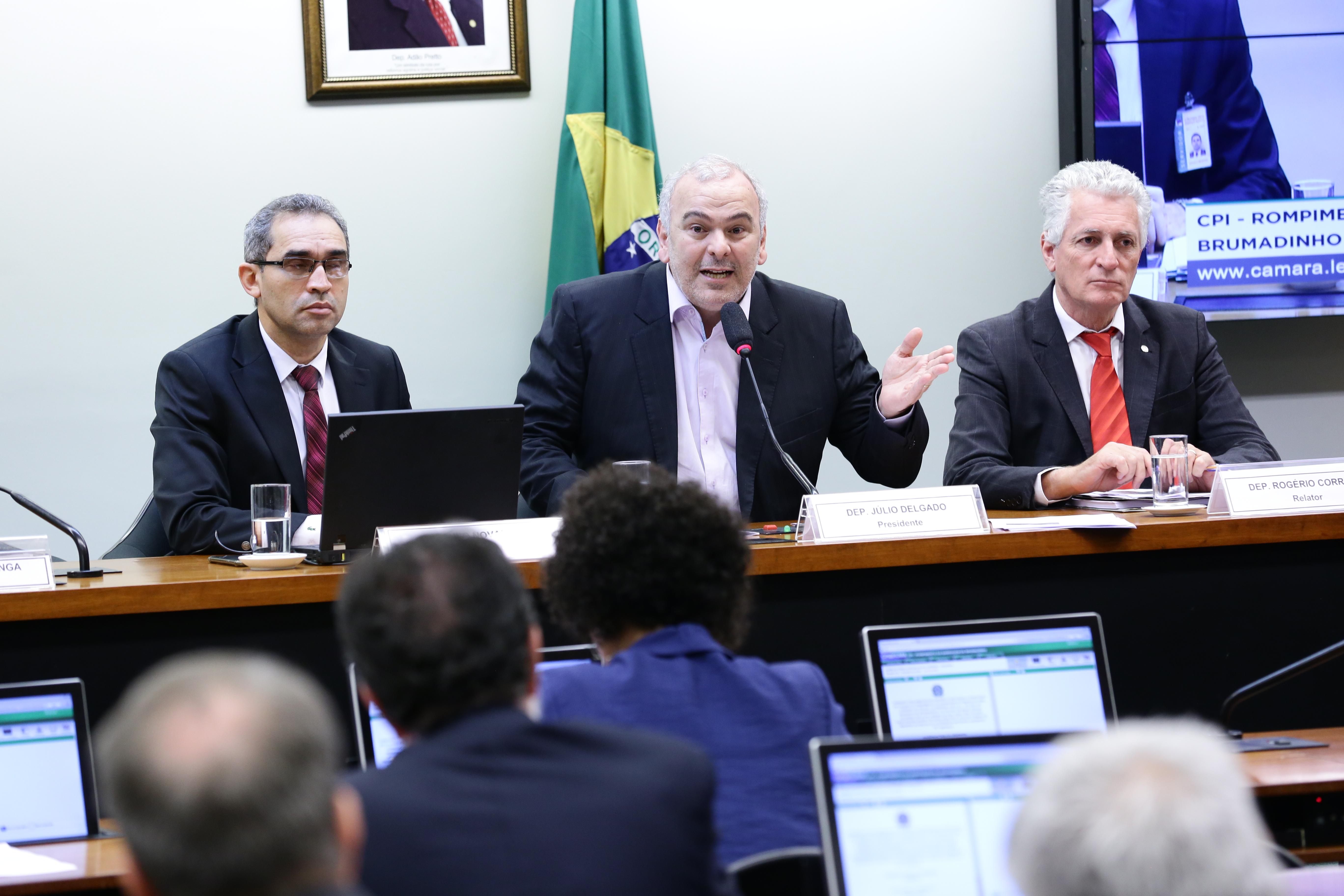 Audiência pública para tomada de depoimento. Dep. Júlio Delgado (PSB-MG)