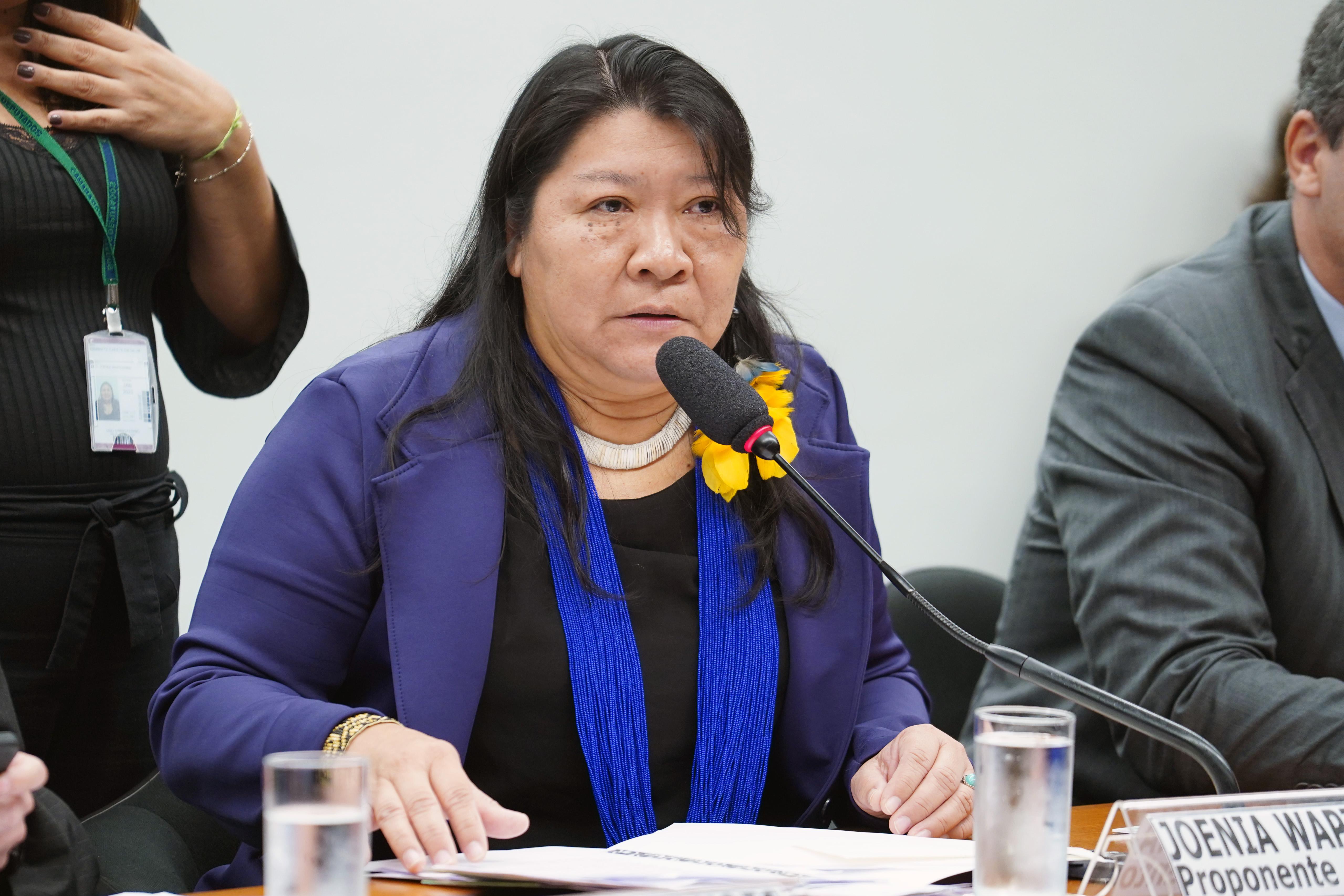 Seminário: Aplicação do Direito de Consulta e Consentimento Prévio, Livre e Informado aos Povos Indígenas do Xingu, no caso das obras no Estado do Mato Grosso. Dep. Joenia Wapichana (REDE - RR)