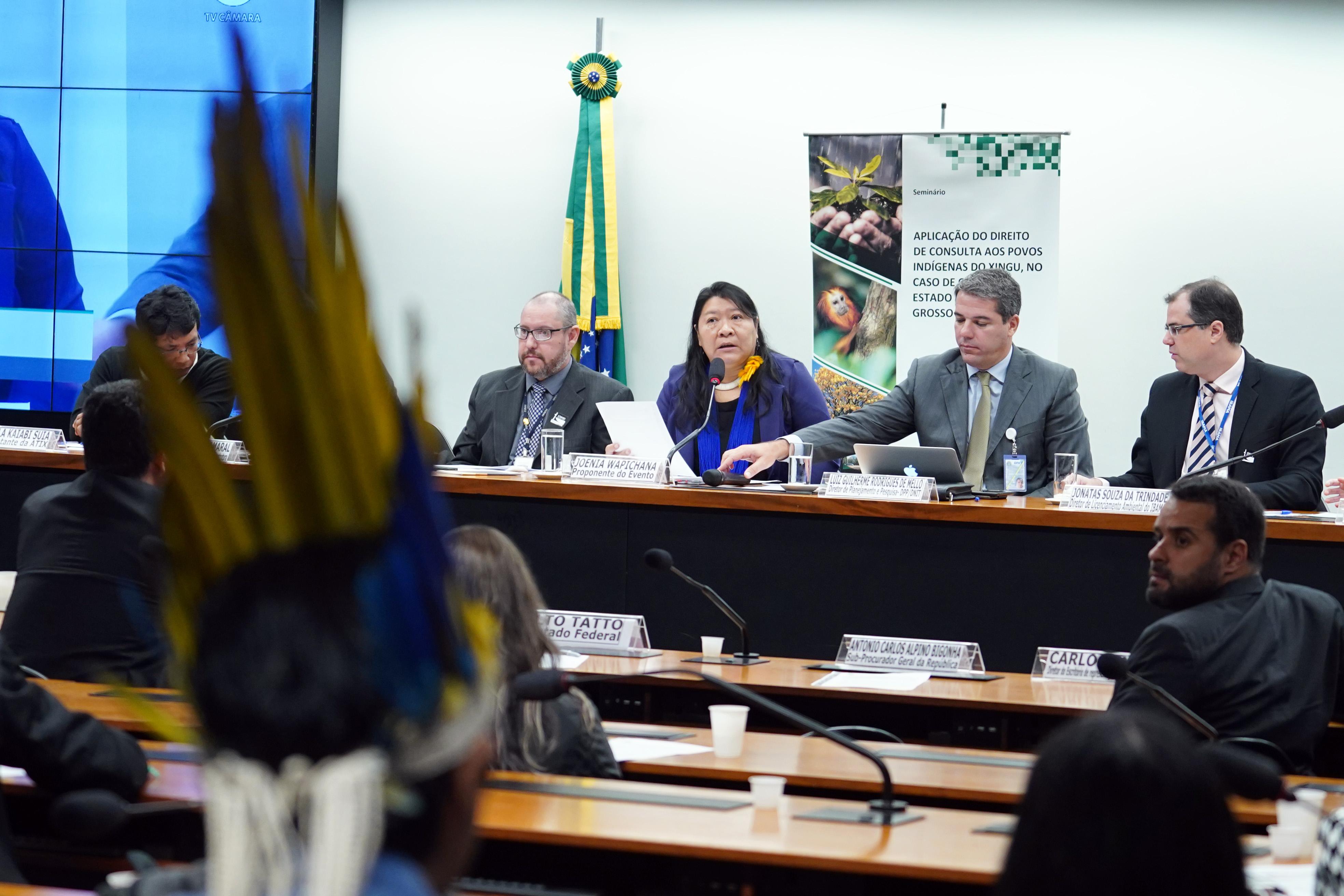 Seminário: Aplicação do Direito de Consulta e Consentimento Prévio, Livre e Informado aos Povos Indígenas do Xingu, no caso das obras no Estado do Mato Grosso