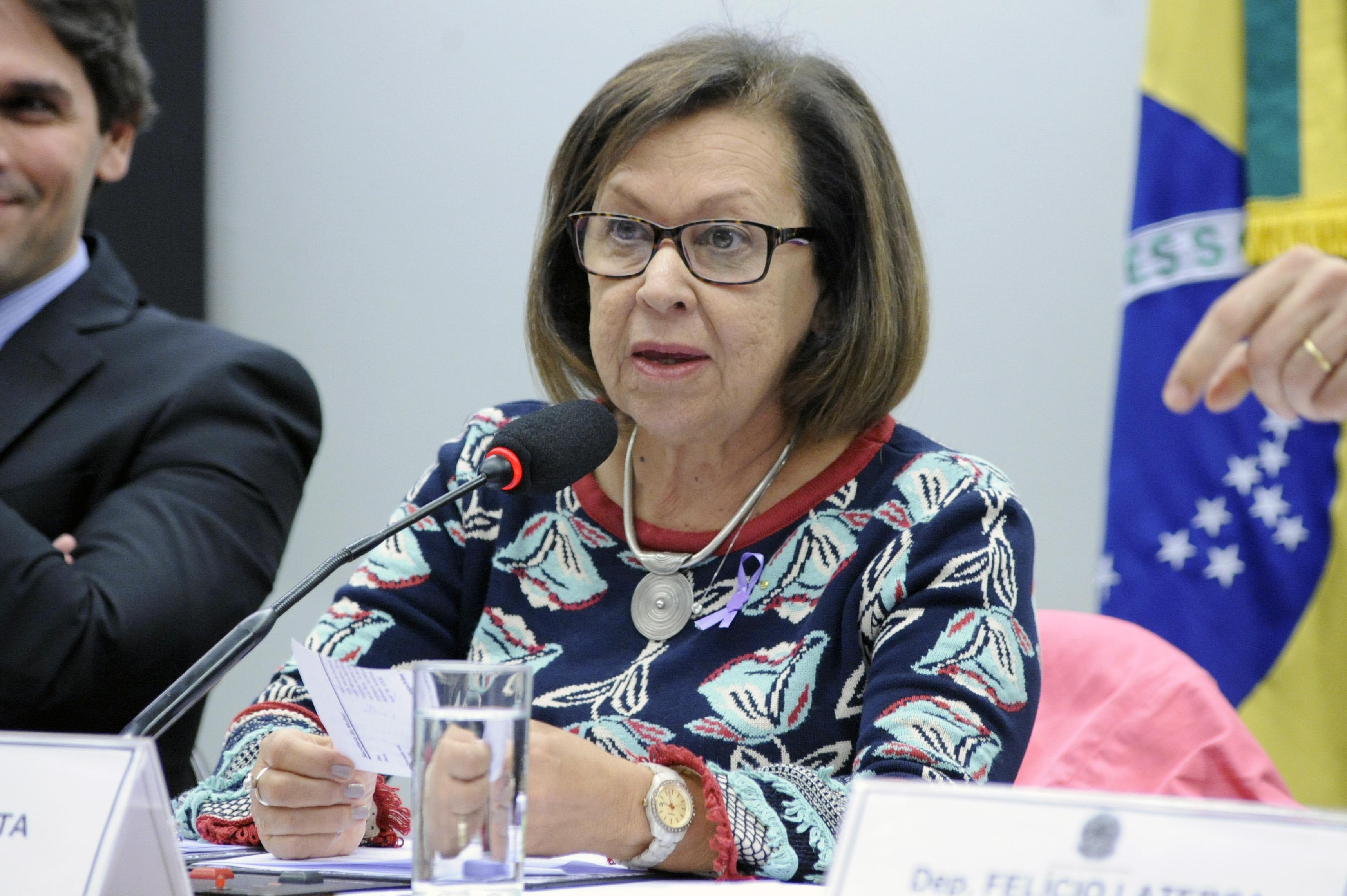 Audiência pública sobre o abuso na oferta e concessão de empréstimos consignados para aposentados e beneficiários do INSS. Dep. Lídice da Mata (PSB-BA)