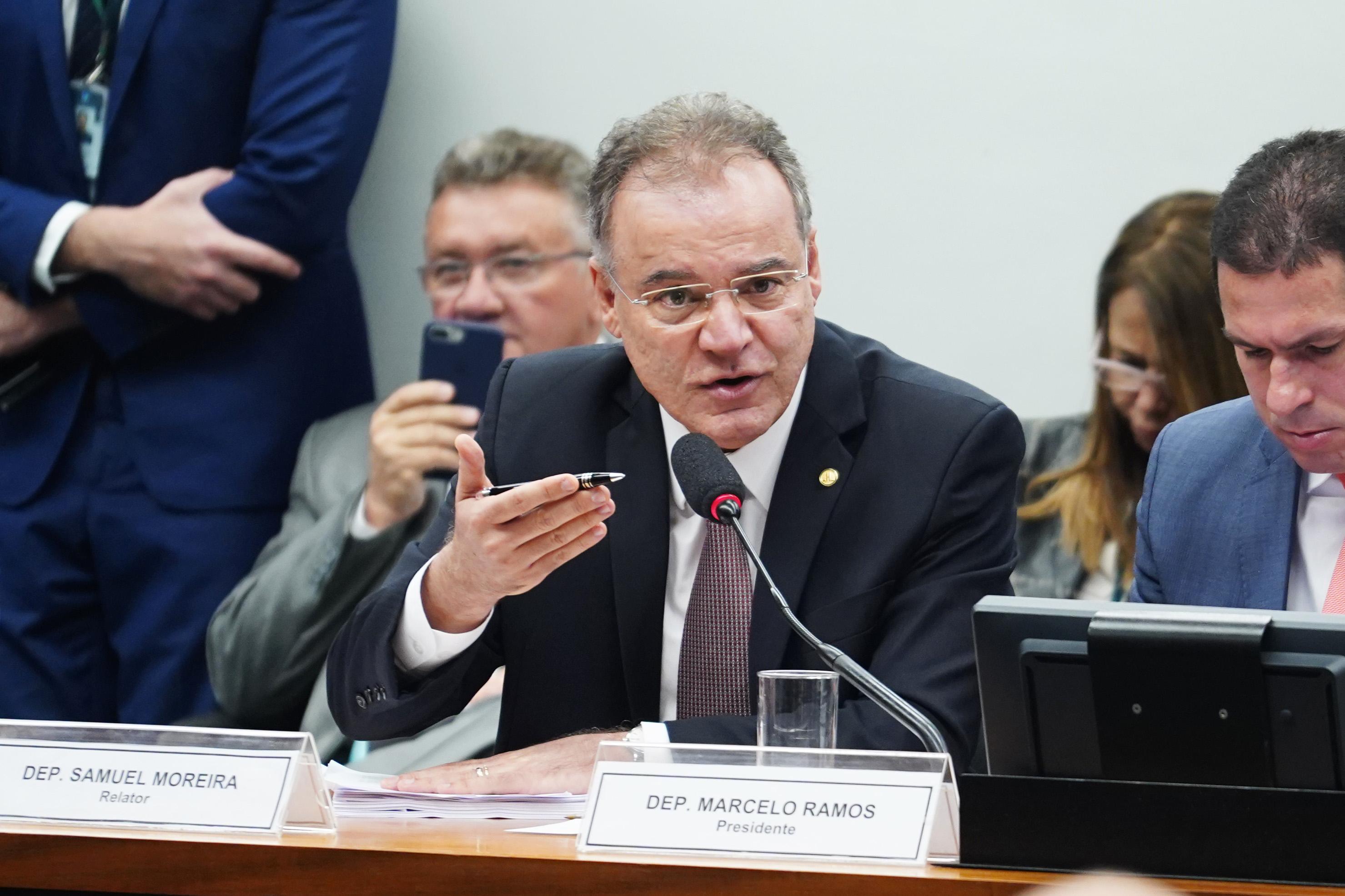 Leitura do relatório e parecer do relator da Comissão Especial da Reforma da Previdência, Samuel Moreira (PSDB-SP)