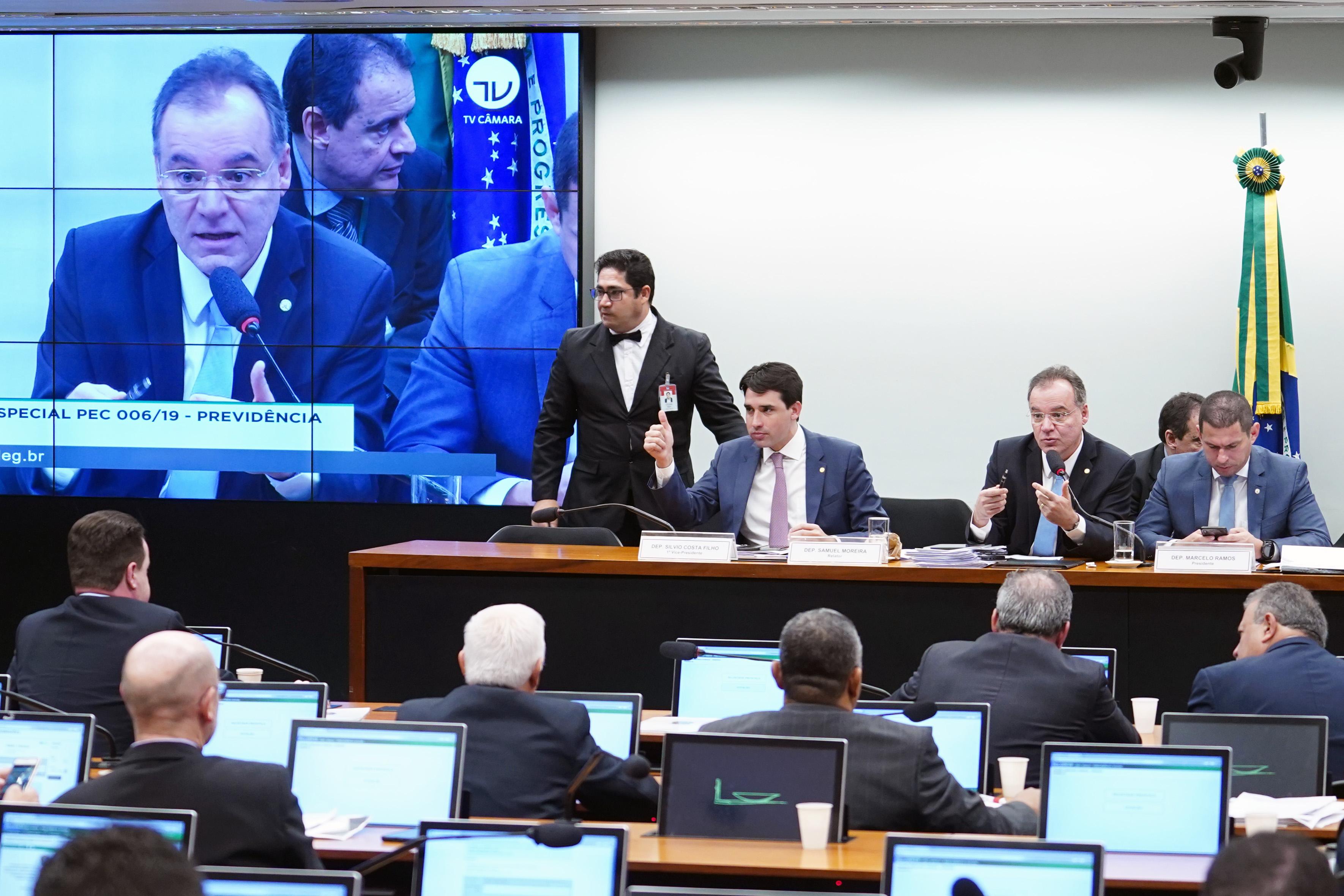 Comissão retoma discussão da reforma da Previdência nesta quarta-feira